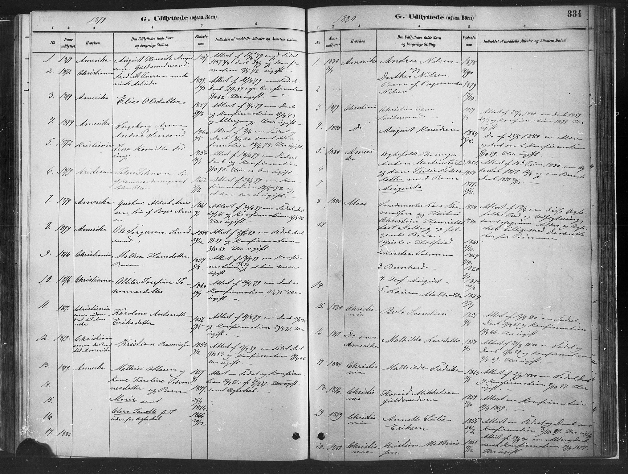SAH, Fåberg prestekontor, H/Ha/Haa/L0010: Ministerialbok nr. 10, 1879-1900, s. 334