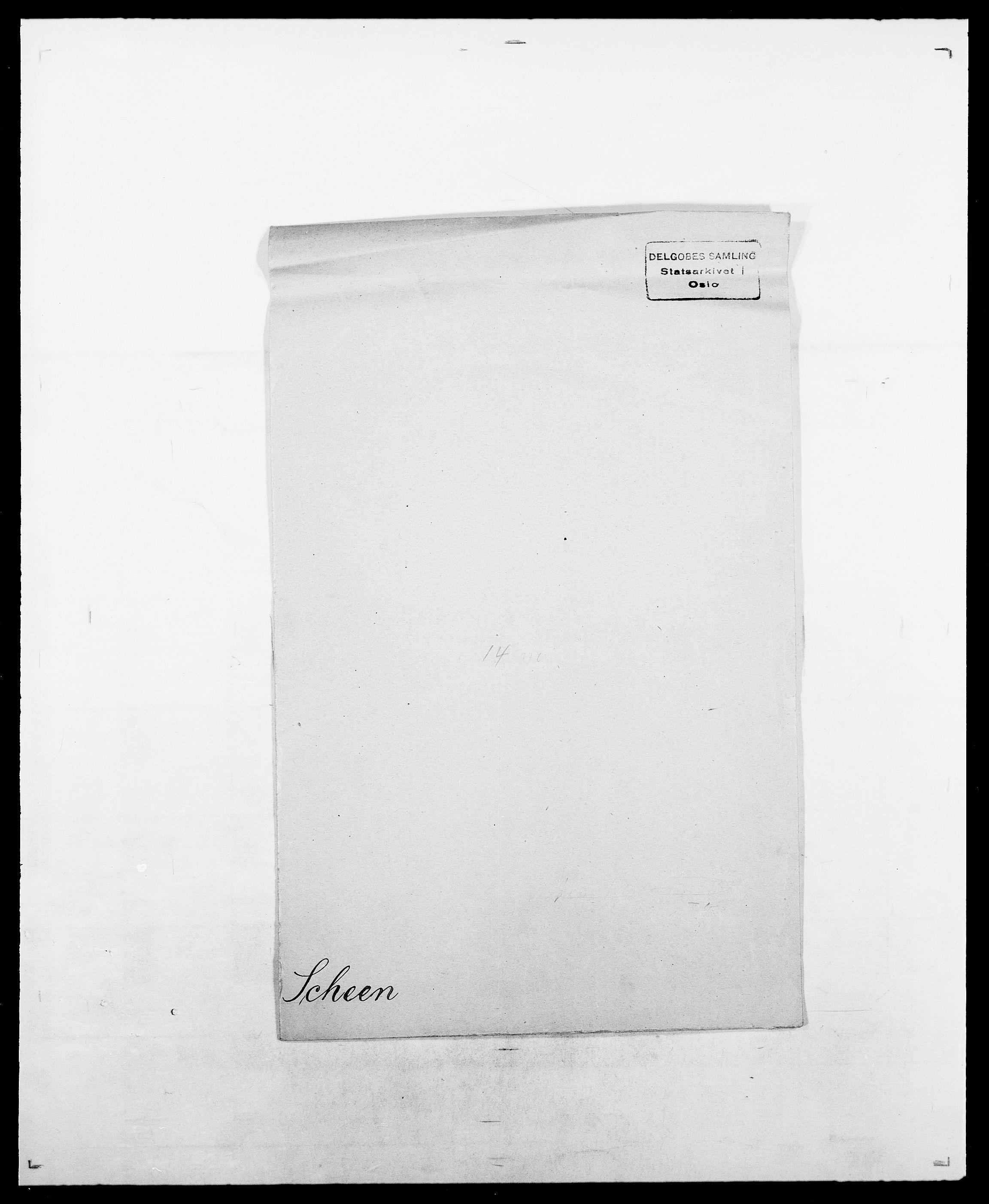 SAO, Delgobe, Charles Antoine - samling, D/Da/L0034: Saabye - Schmincke, s. 430