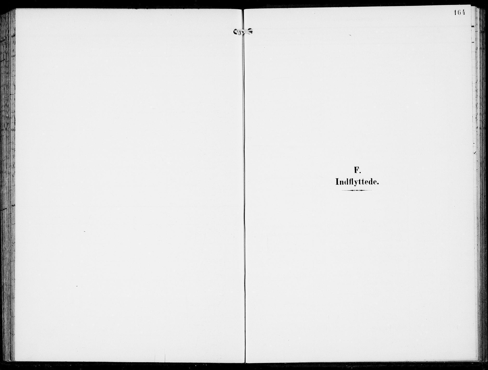 SAB, Haus sokneprestembete, H/Haa: Ministerialbok nr. B  2, 1899-1912, s. 164
