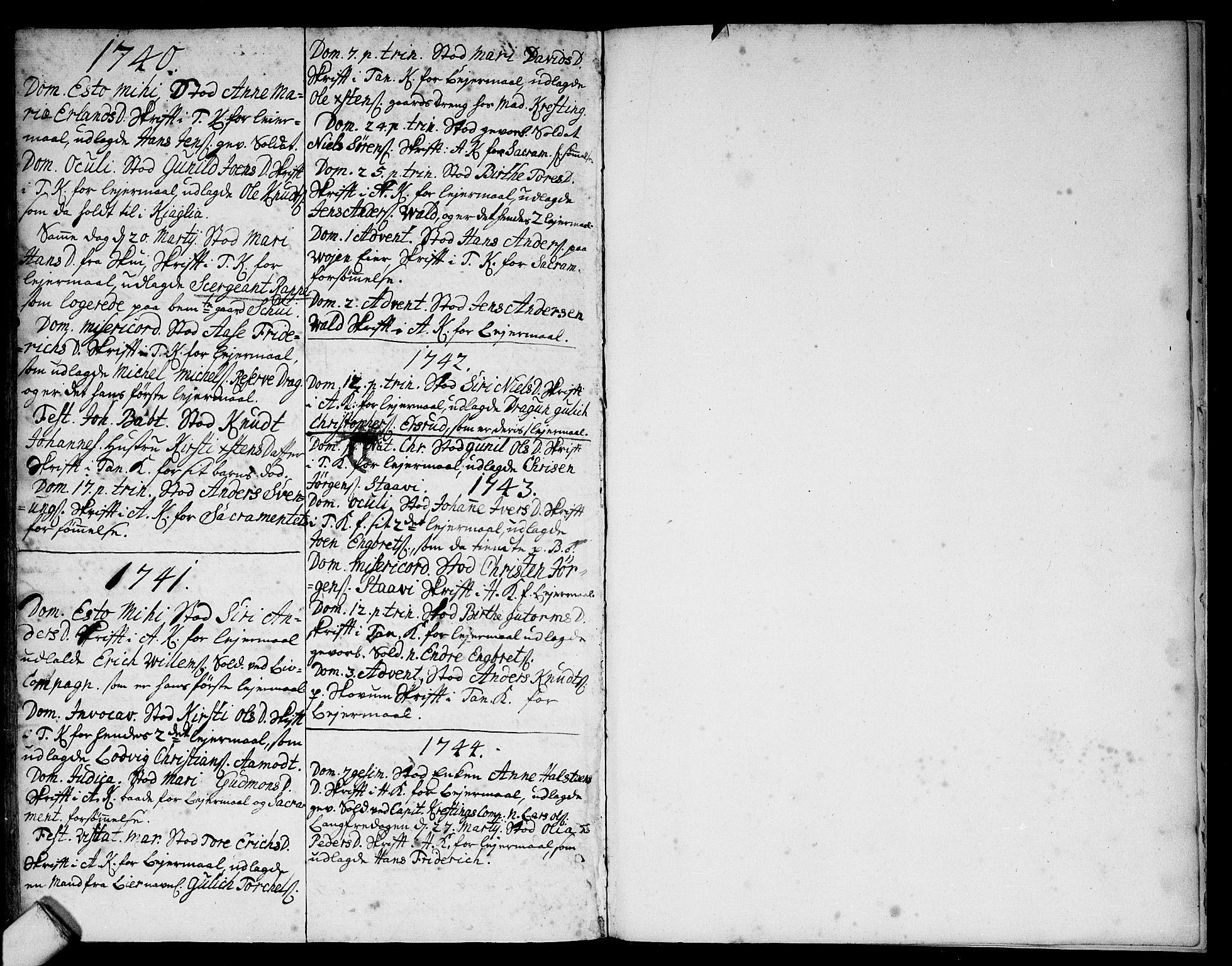 SAO, Asker prestekontor Kirkebøker, F/Fa/L0001: Ministerialbok nr. I 1, 1726-1744, s. 115
