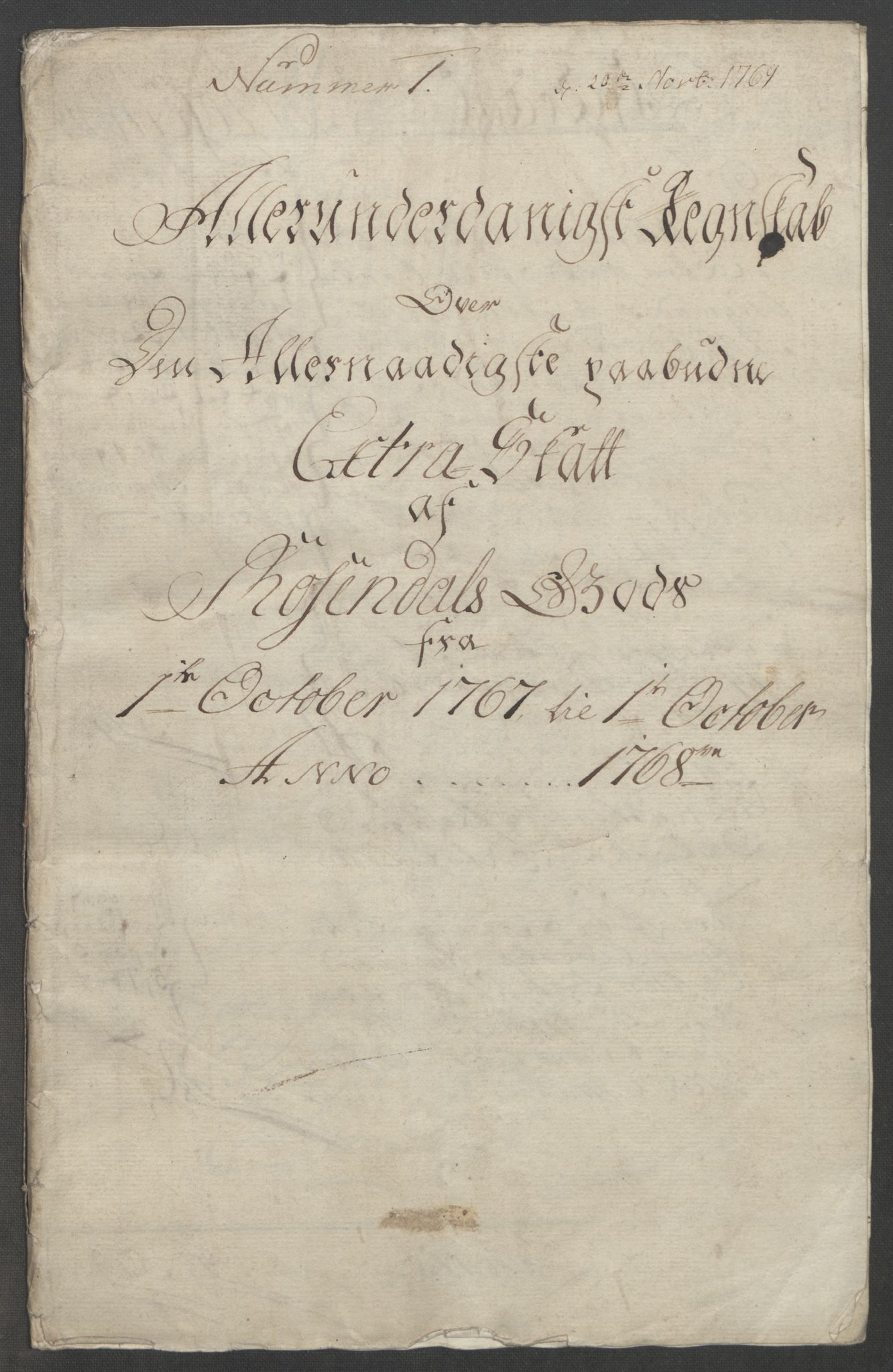 RA, Rentekammeret inntil 1814, Reviderte regnskaper, Fogderegnskap, R49/L3157: Ekstraskatten Rosendal Baroni, 1762-1772, s. 200