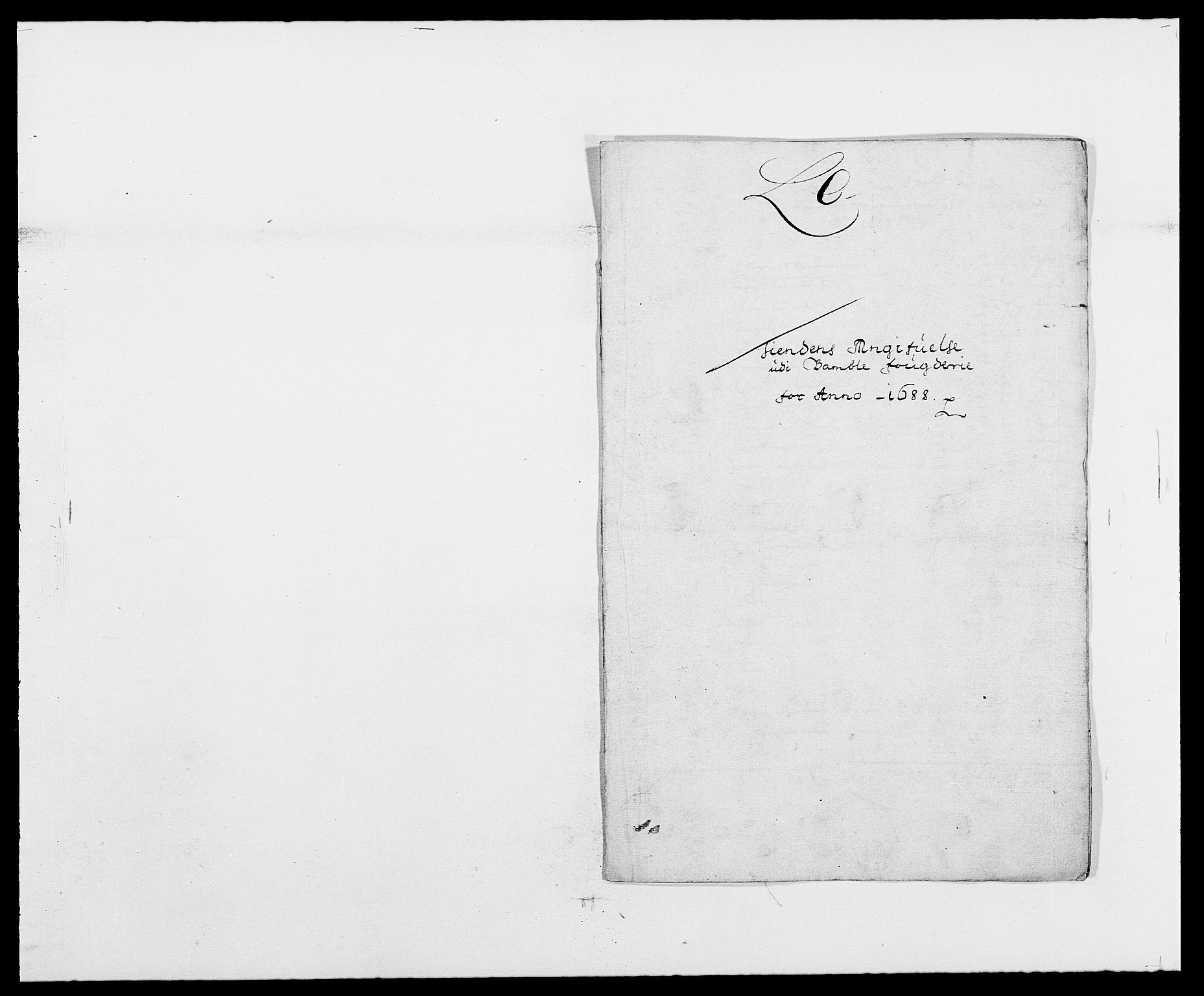RA, Rentekammeret inntil 1814, Reviderte regnskaper, Fogderegnskap, R34/L2050: Fogderegnskap Bamble, 1688-1691, s. 71
