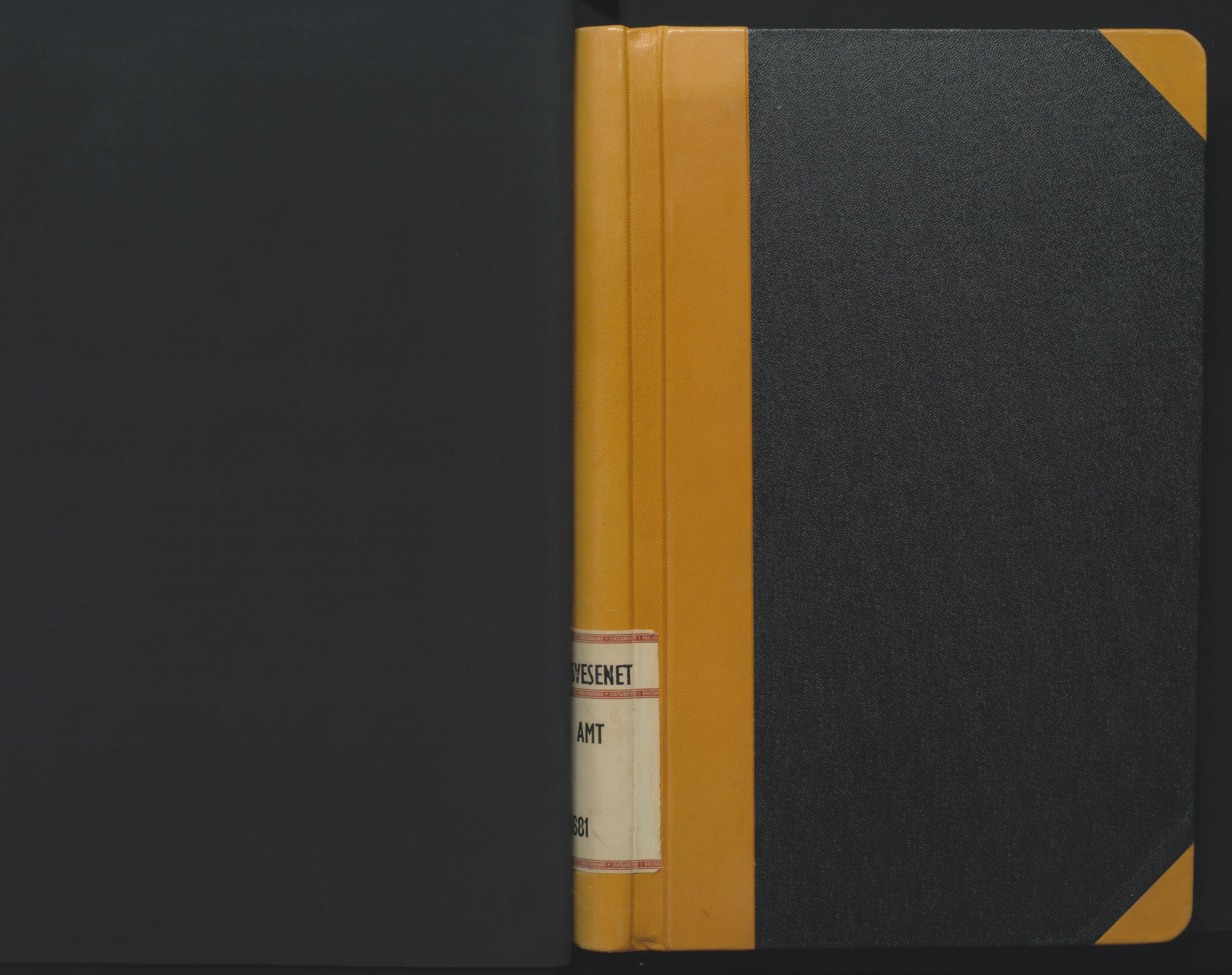 SAK, Utskiftningsformannen i Nedenes amt, F/Fa/Faa/L0008: Utskiftningsprotokoll med gårdsregister, Nedenes amt nr 8, 1875-1881