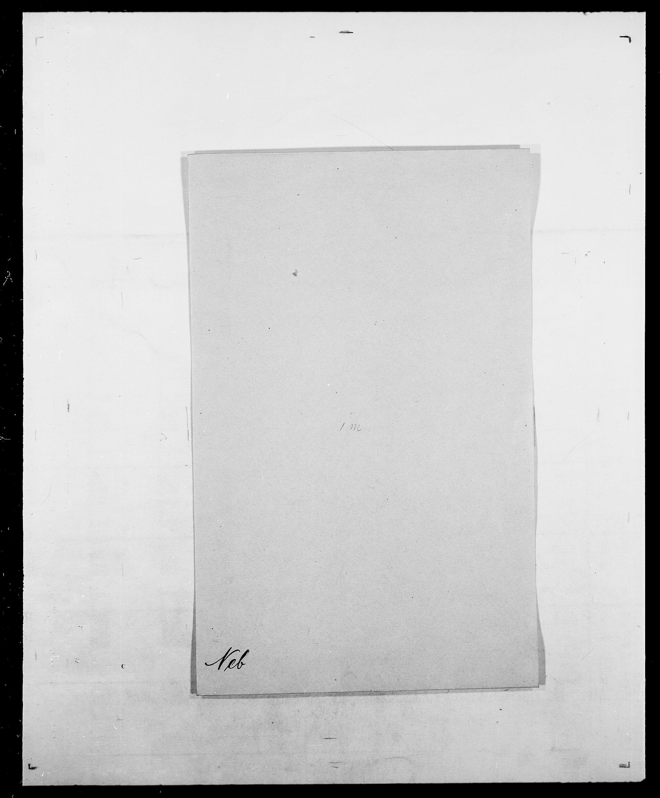 SAO, Delgobe, Charles Antoine - samling, D/Da/L0028: Naaden - Nøvik, s. 78