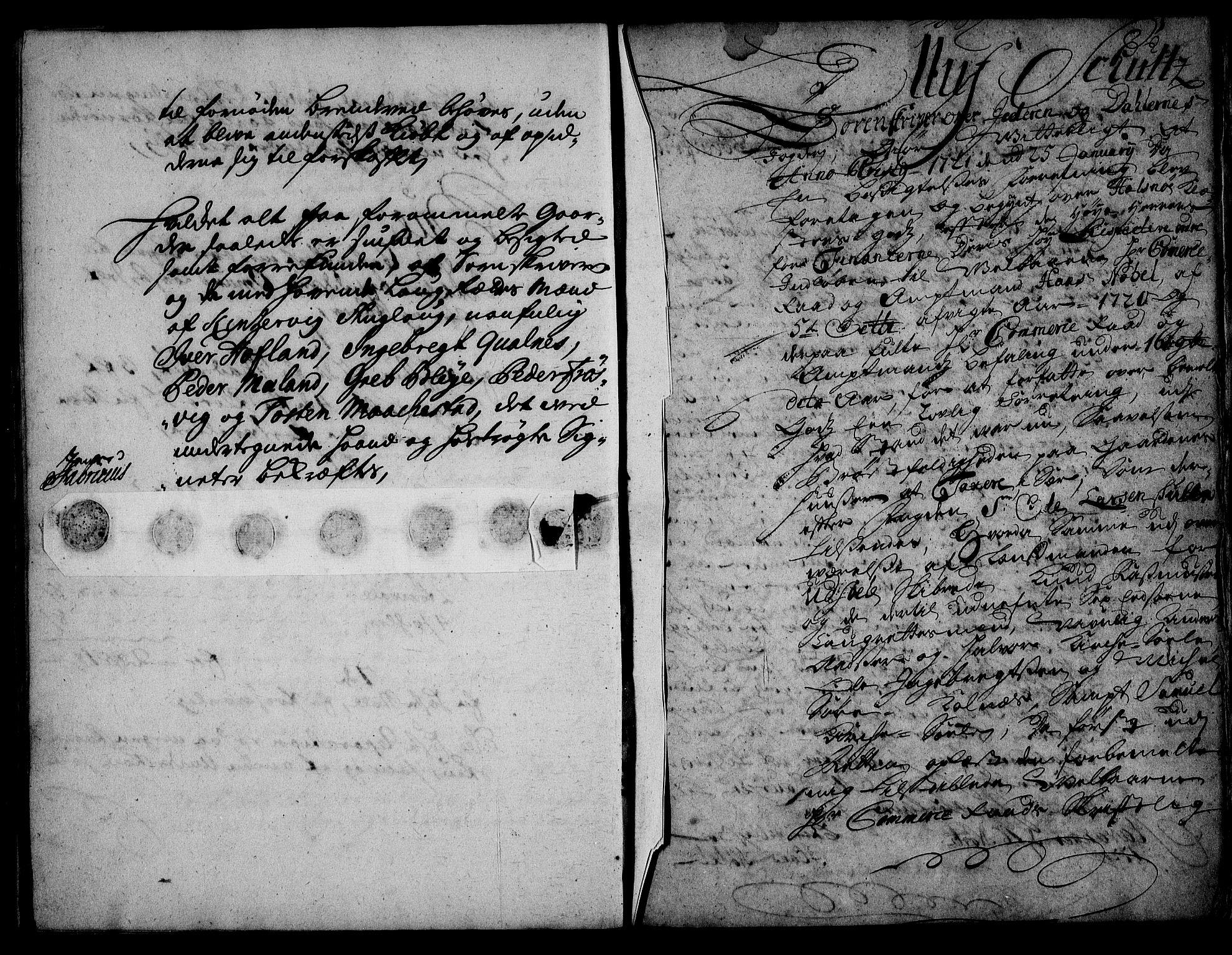RA, Rentekammeret inntil 1814, Realistisk ordnet avdeling, On/L0003: [Jj 4]: Kommisjonsforretning over Vilhelm Hanssøns forpaktning av Halsnøy klosters gods, 1721-1729, s. 102