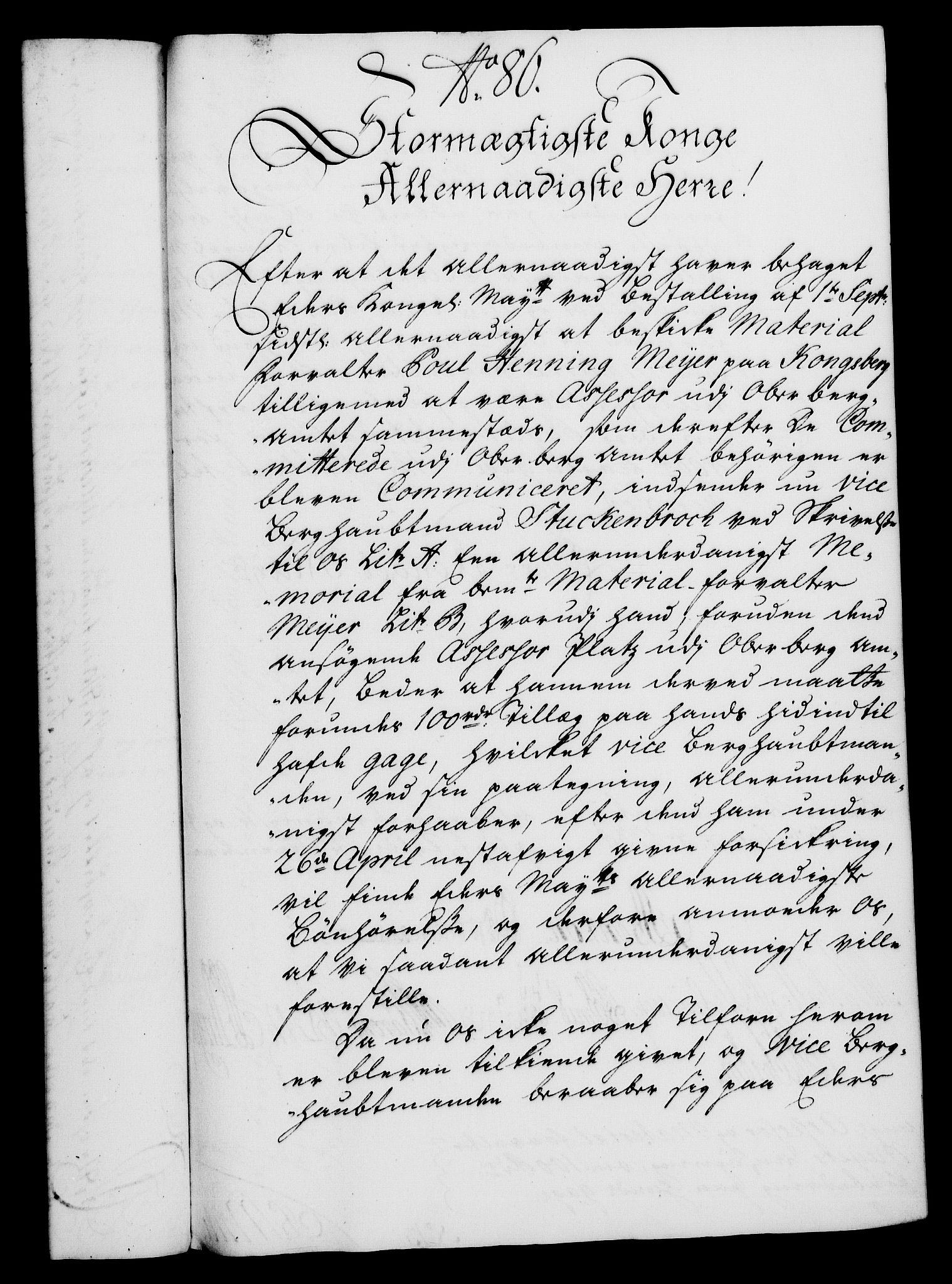 RA, Rentekammeret, Kammerkanselliet, G/Gf/Gfa/L0021: Norsk relasjons- og resolusjonsprotokoll (merket RK 52.21), 1738, s. 460
