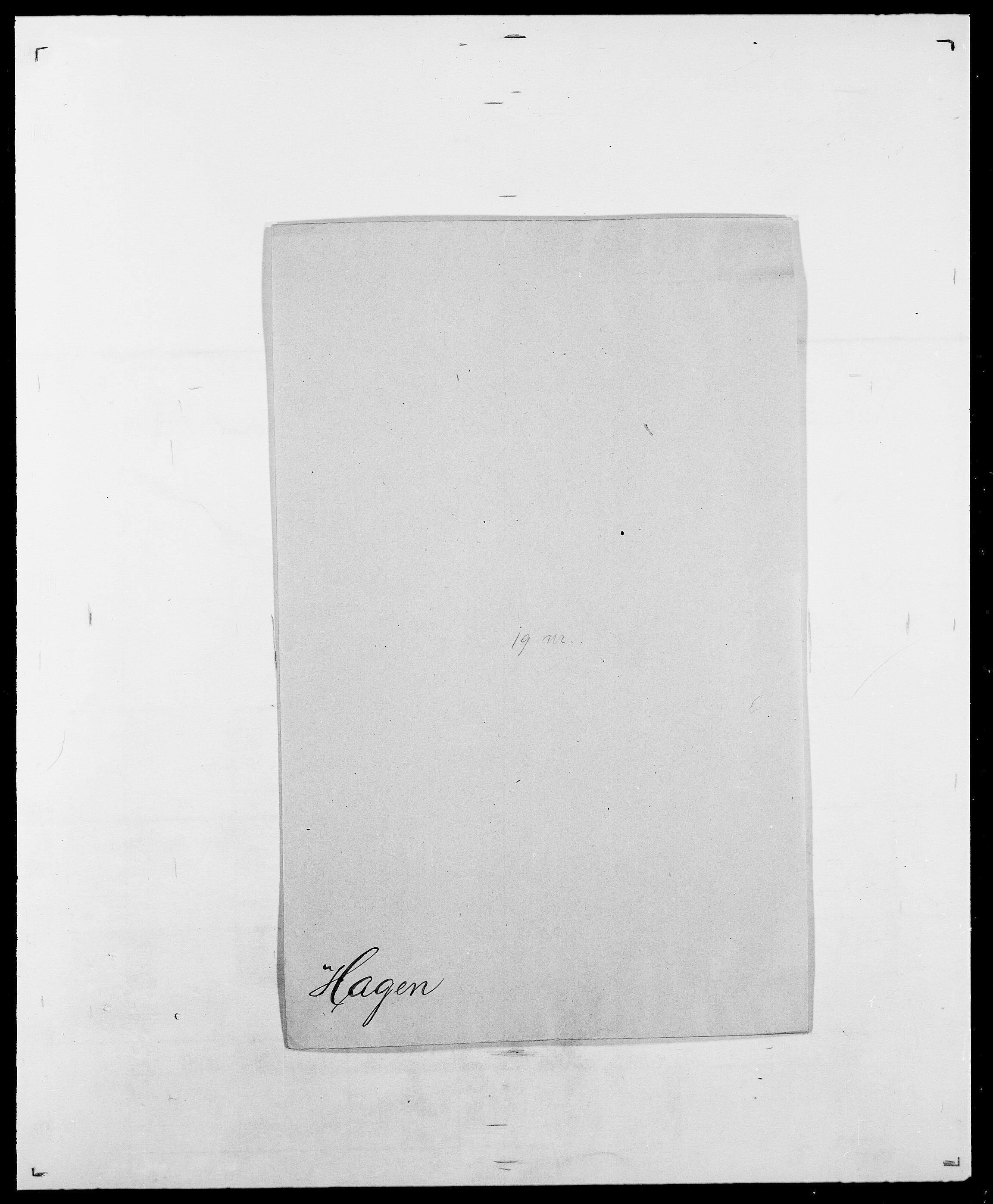 SAO, Delgobe, Charles Antoine - samling, D/Da/L0015: Grodtshilling - Halvorsæth, s. 688