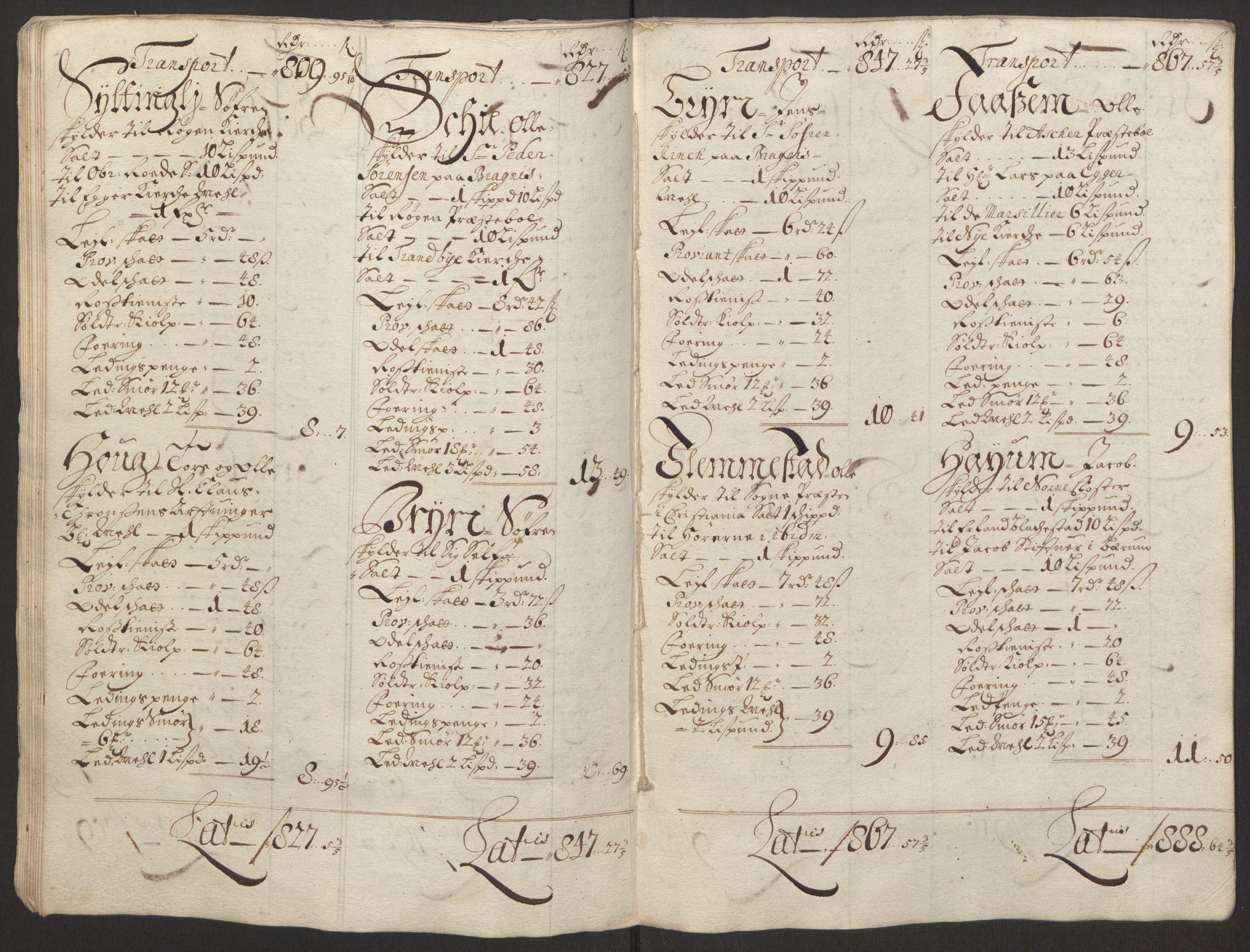 RA, Rentekammeret inntil 1814, Reviderte regnskaper, Fogderegnskap, R30/L1694: Fogderegnskap Hurum, Røyken, Eiker og Lier, 1694-1696, s. 44