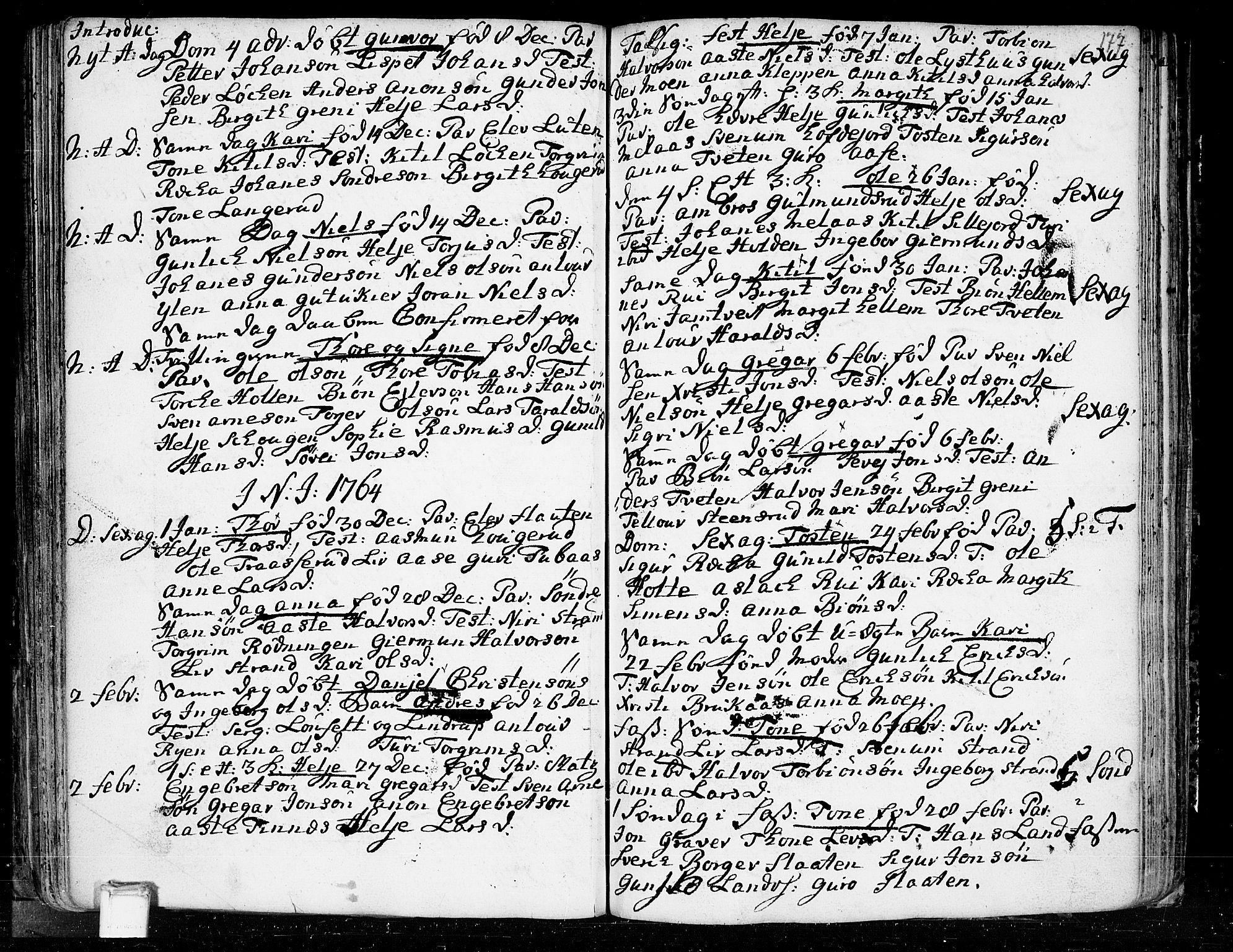 SAKO, Heddal kirkebøker, F/Fa/L0003: Ministerialbok nr. I 3, 1723-1783, s. 177