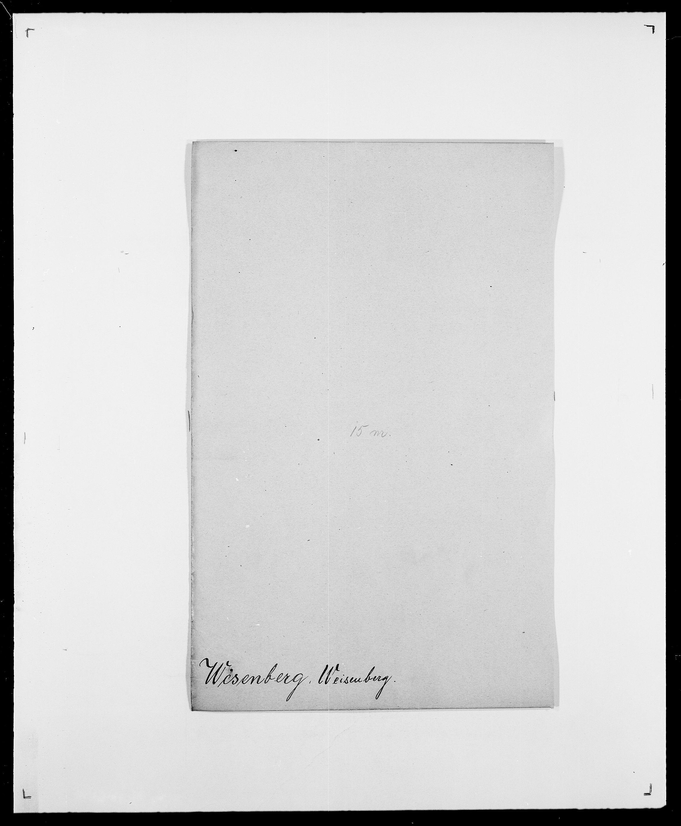 SAO, Delgobe, Charles Antoine - samling, D/Da/L0041: Vemmestad - Viker, s. 149