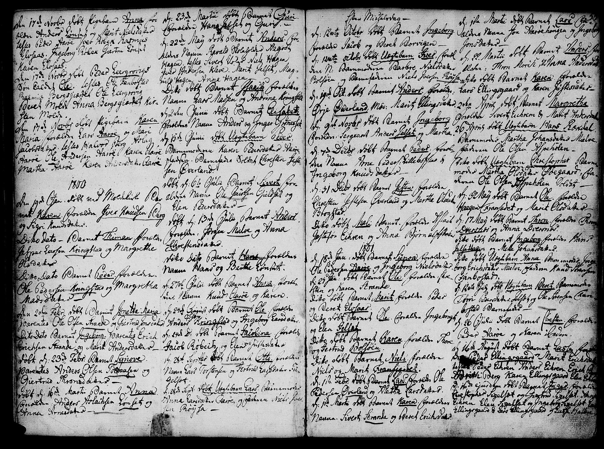 SAT, Ministerialprotokoller, klokkerbøker og fødselsregistre - Møre og Romsdal, 555/L0649: Ministerialbok nr. 555A02 /1, 1795-1821, s. 55