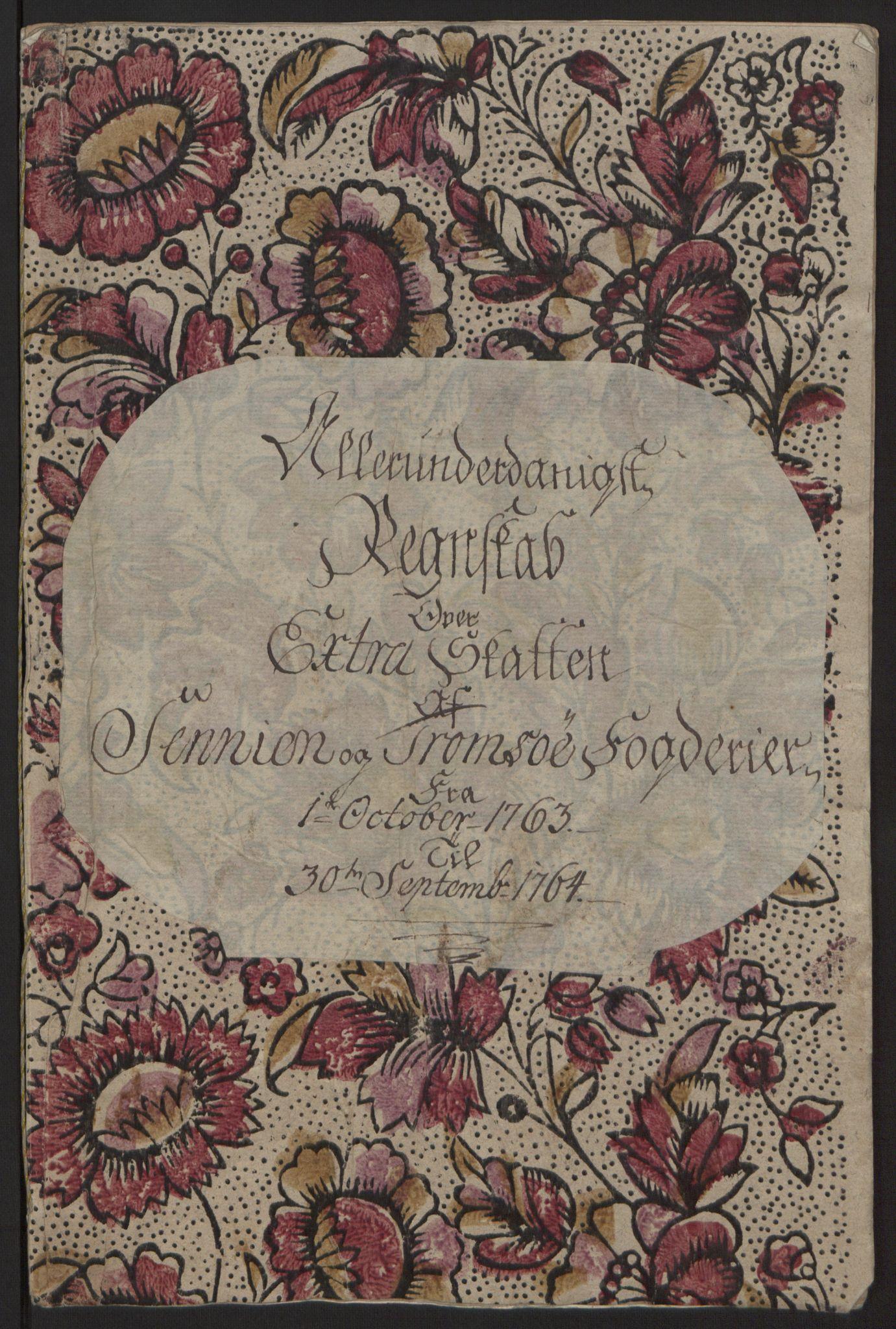 RA, Rentekammeret inntil 1814, Reviderte regnskaper, Fogderegnskap, R68/L4845: Ekstraskatten Senja og Troms, 1762-1765, s. 228