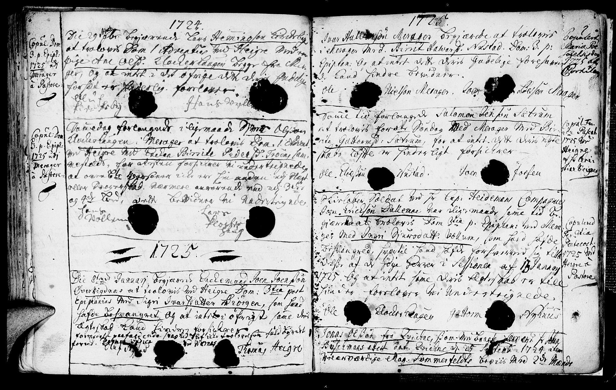SAT, Ministerialprotokoller, klokkerbøker og fødselsregistre - Nord-Trøndelag, 709/L0053: Ministerialbok nr. 709A01, 1714-1729