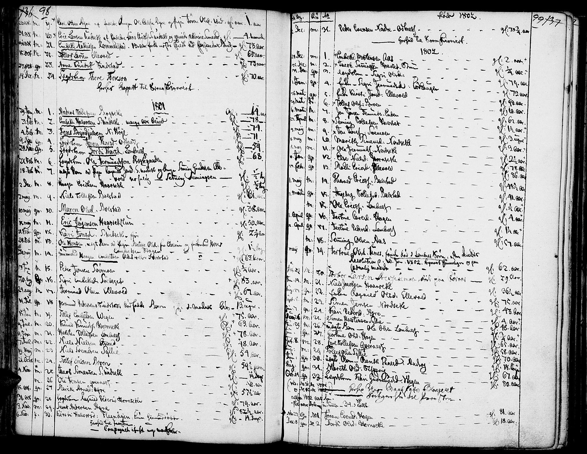 SAH, Rendalen prestekontor, H/Ha/Haa/L0002: Ministerialbok nr. 2, 1788-1814, s. 98-99