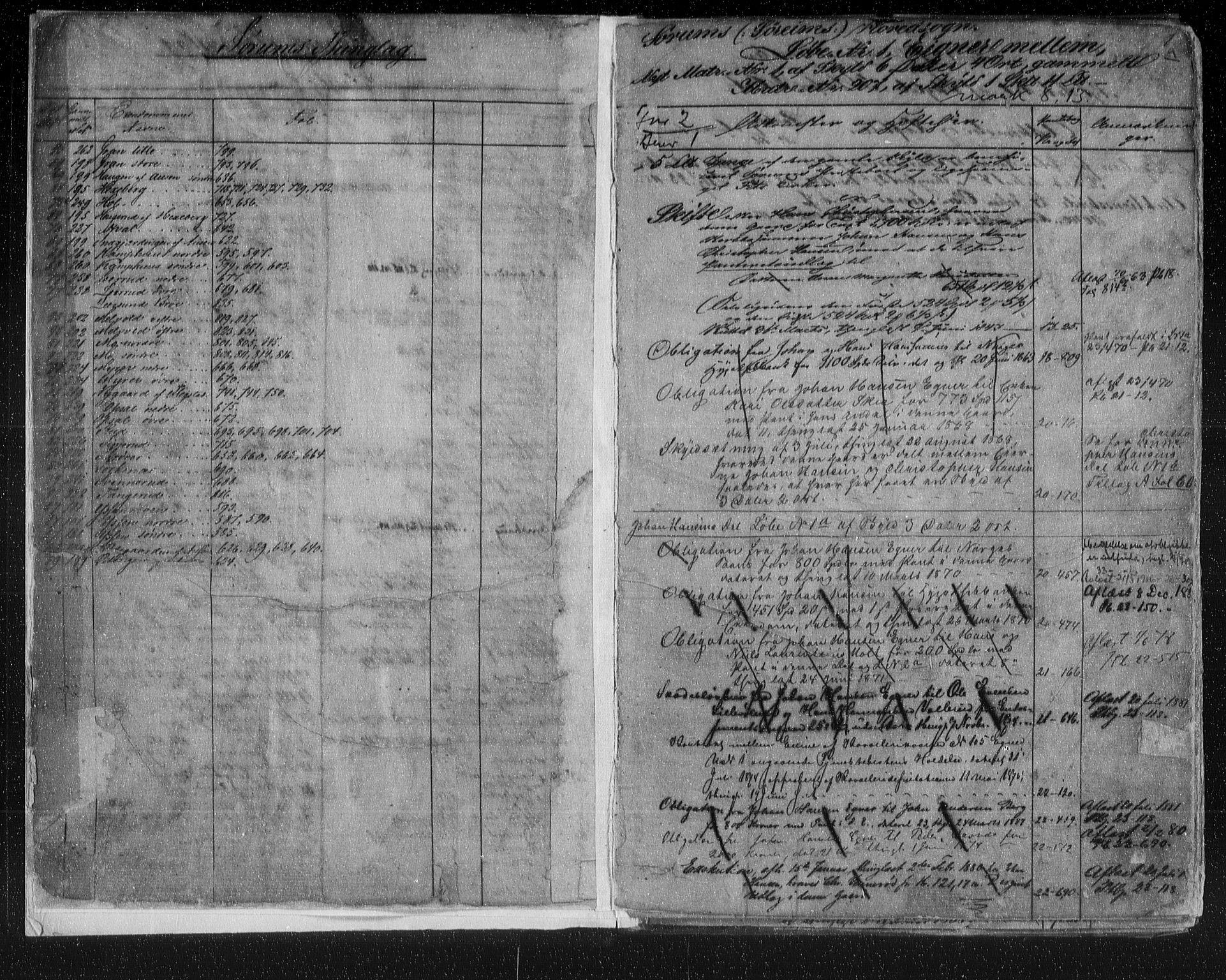 SAO, Nes tingrett, G/Ga/Gab/Gaba/L0018.a: Panteregister nr. I 18a, s. 1