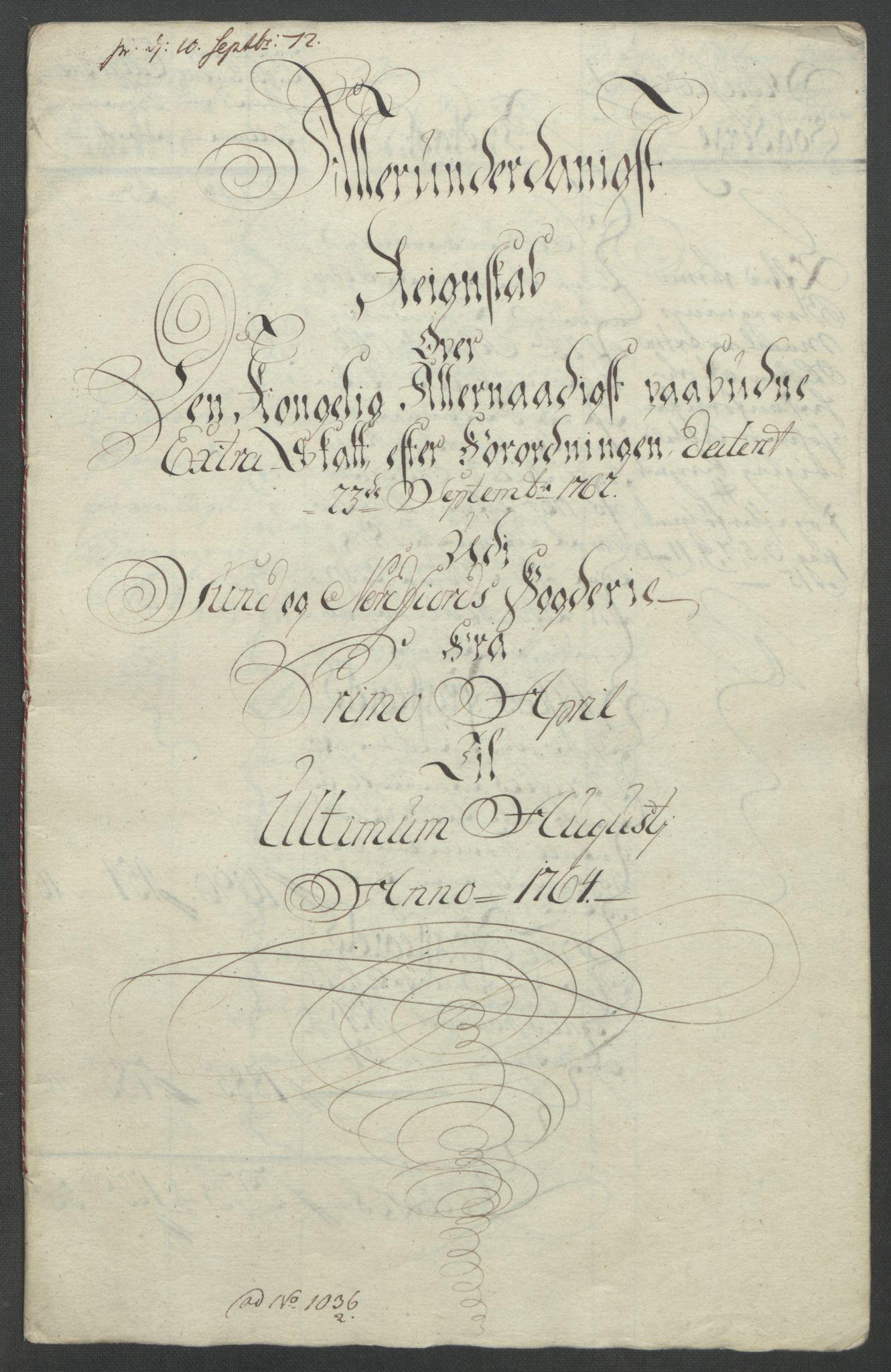 RA, Rentekammeret inntil 1814, Reviderte regnskaper, Fogderegnskap, R53/L3550: Ekstraskatten Sunn- og Nordfjord, 1762-1771, s. 92