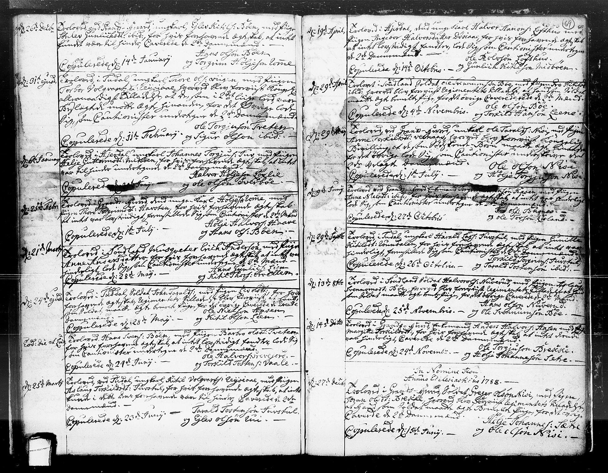 SAKO, Hjartdal kirkebøker, F/Fa/L0004: Ministerialbok nr. I 4, 1727-1795, s. 69