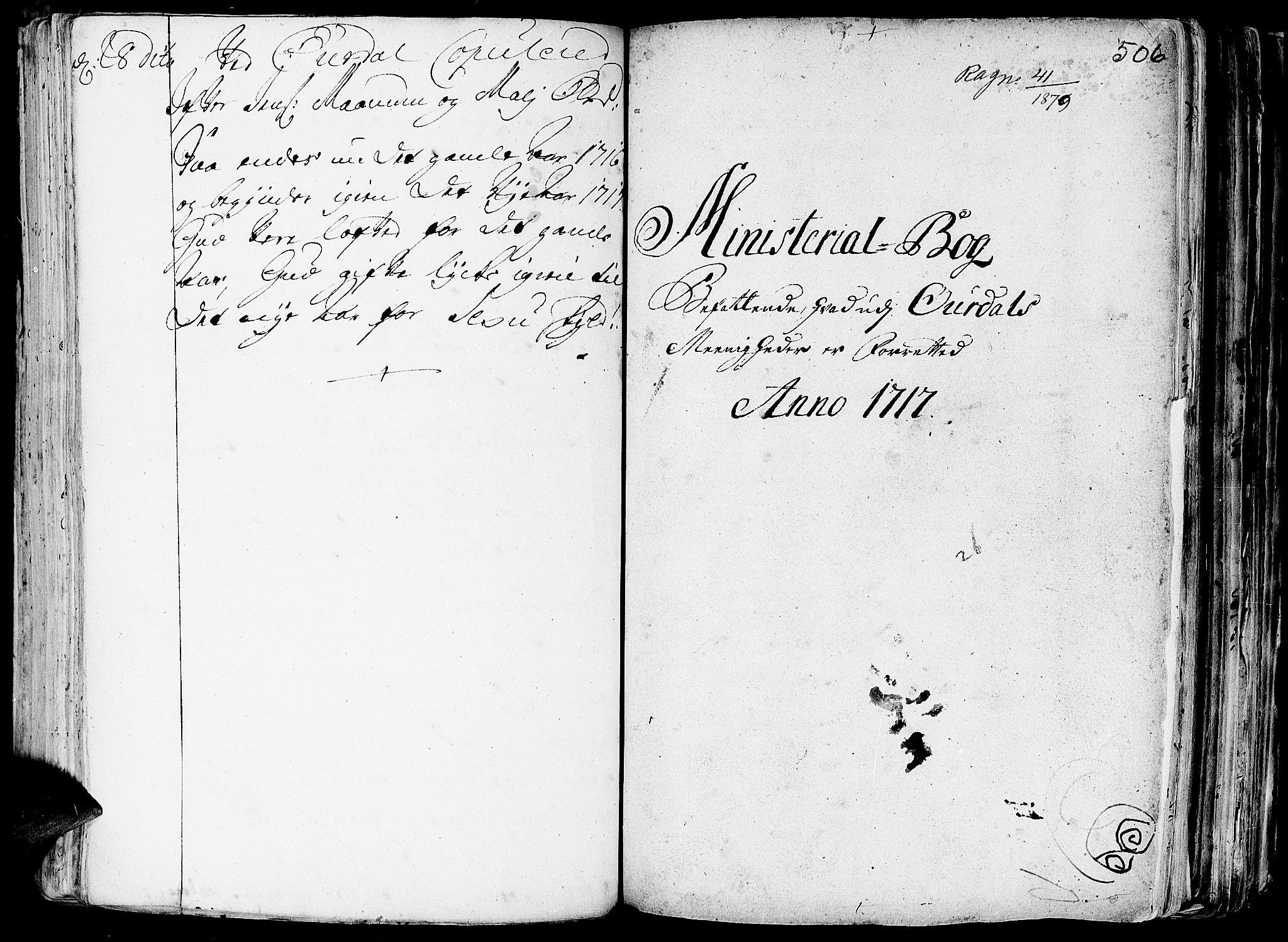 SAH, Aurdal prestekontor, Ministerialbok nr. 1-3, 1692-1730, s. 506