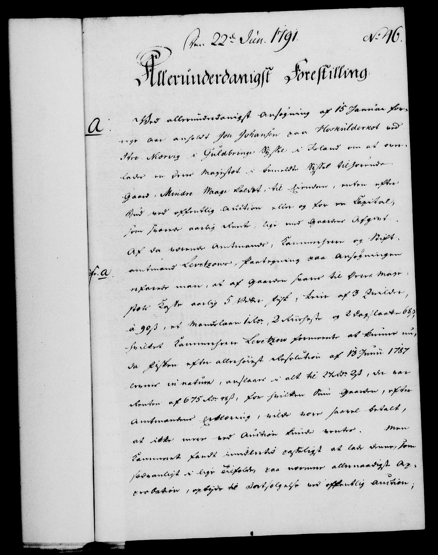RA, Rentekammeret, Kammerkanselliet, G/Gf/Gfa/L0073: Norsk relasjons- og resolusjonsprotokoll (merket RK 52.73), 1791, s. 241