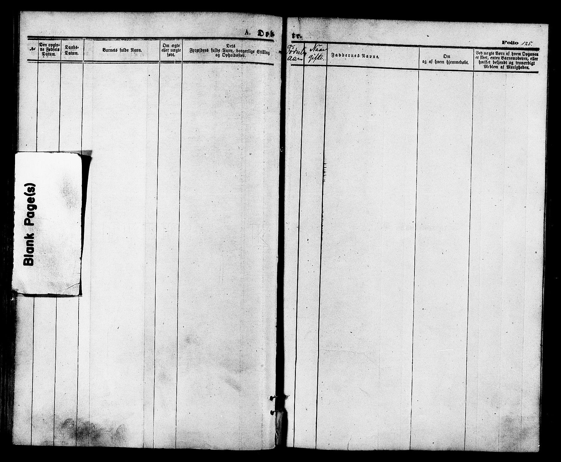 SATØ, Vardø sokneprestkontor, H/Ha/L0005kirke: Ministerialbok nr. 5, 1872-1878, s. 125