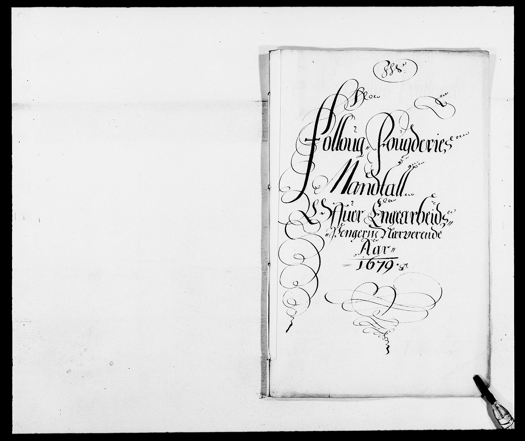 RA, Rentekammeret inntil 1814, Reviderte regnskaper, Fogderegnskap, R09/L0428: Fogderegnskap Follo, 1679, s. 155