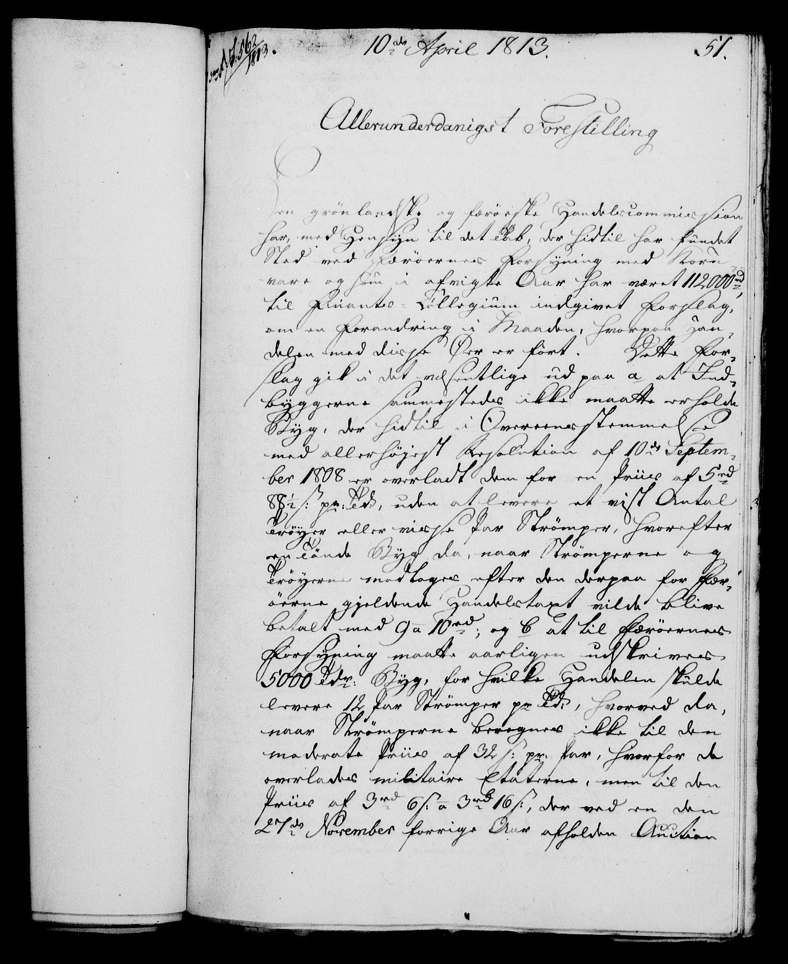 RA, Rentekammeret, Kammerkanselliet, G/Gf/Gfa/L0095: Norsk relasjons- og resolusjonsprotokoll (merket RK 52.95), 1813-1814, s. 202