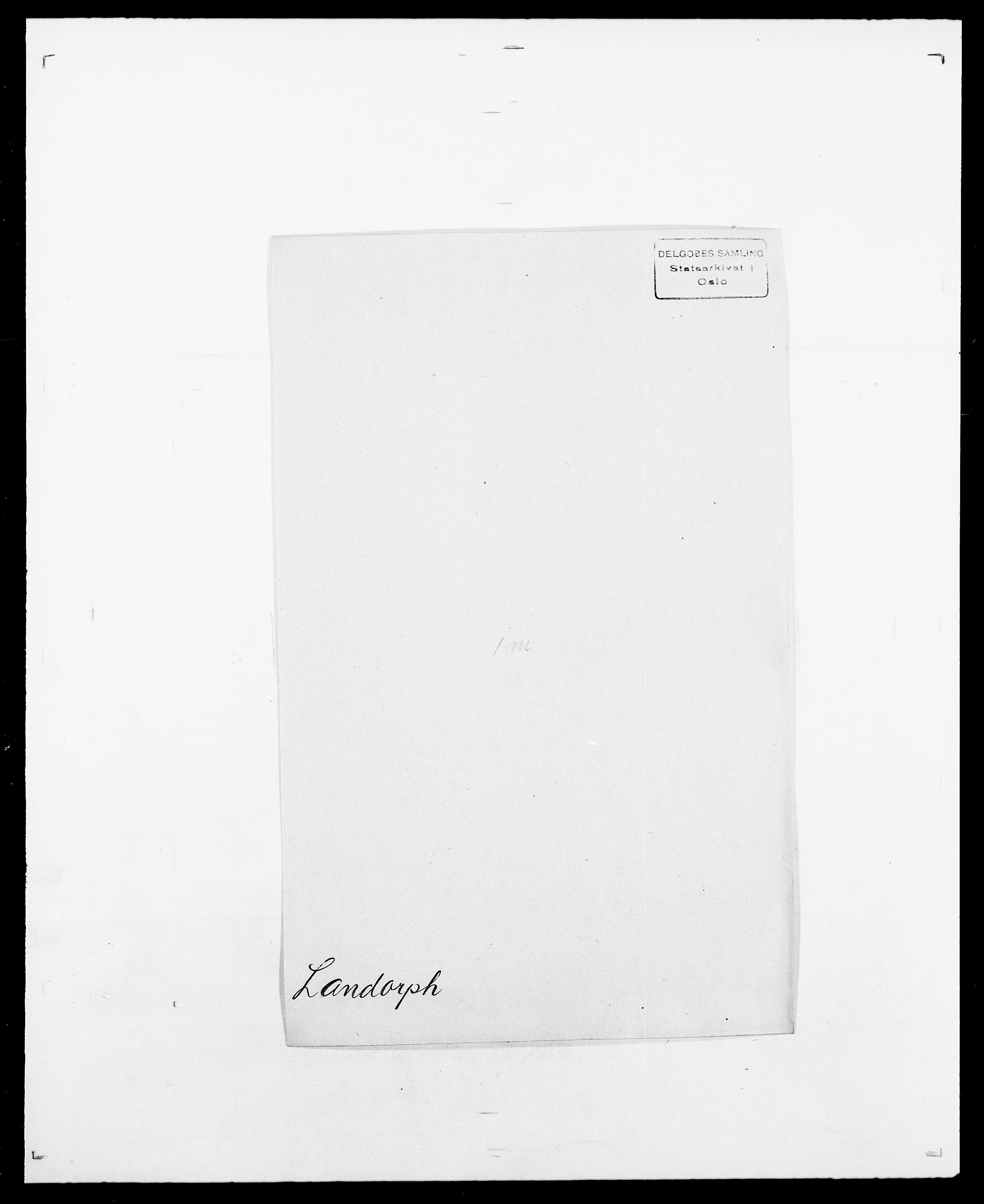 SAO, Delgobe, Charles Antoine - samling, D/Da/L0022: Krog - Lasteen, s. 528