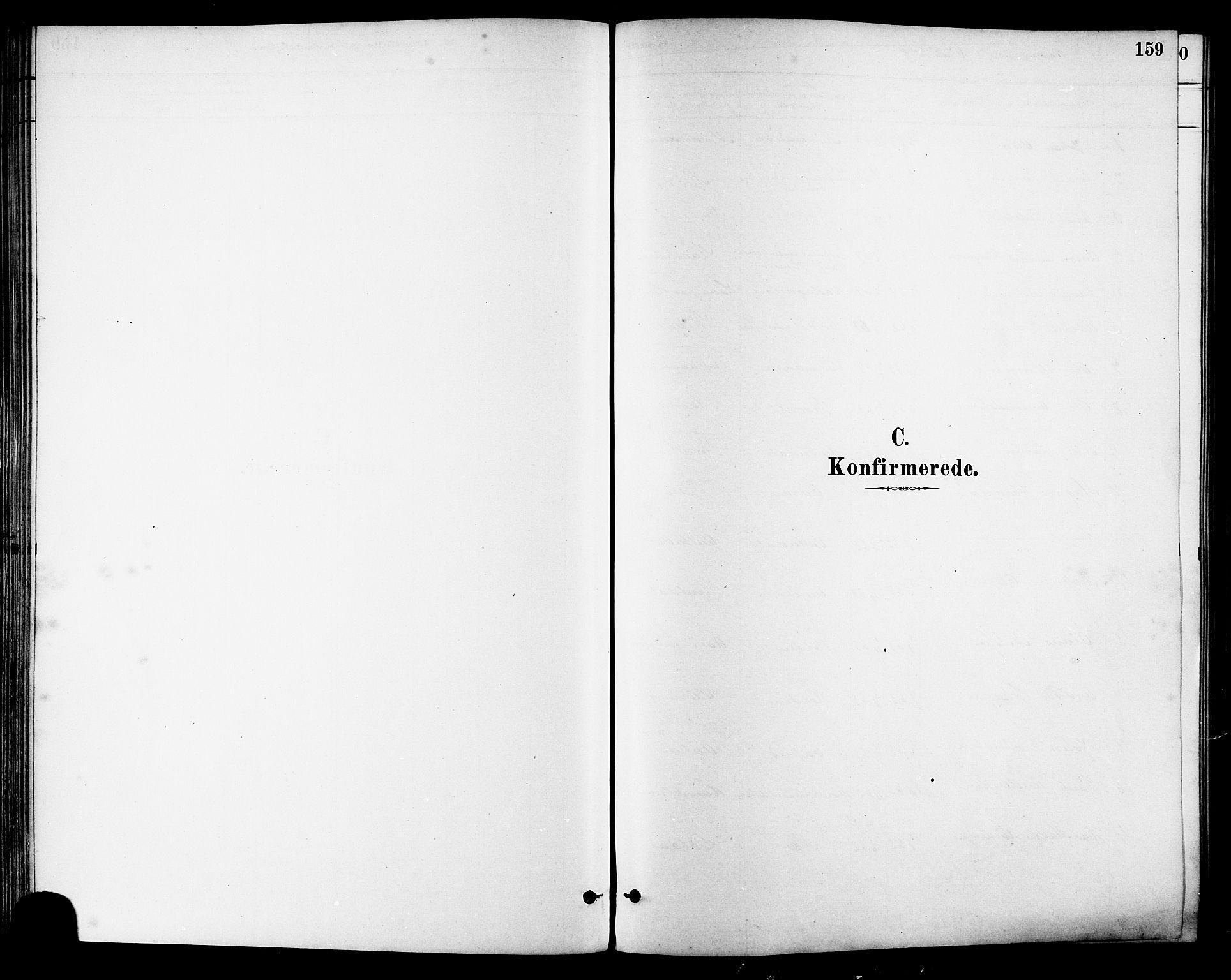 SAT, Ministerialprotokoller, klokkerbøker og fødselsregistre - Sør-Trøndelag, 630/L0496: Ministerialbok nr. 630A09, 1879-1895, s. 159