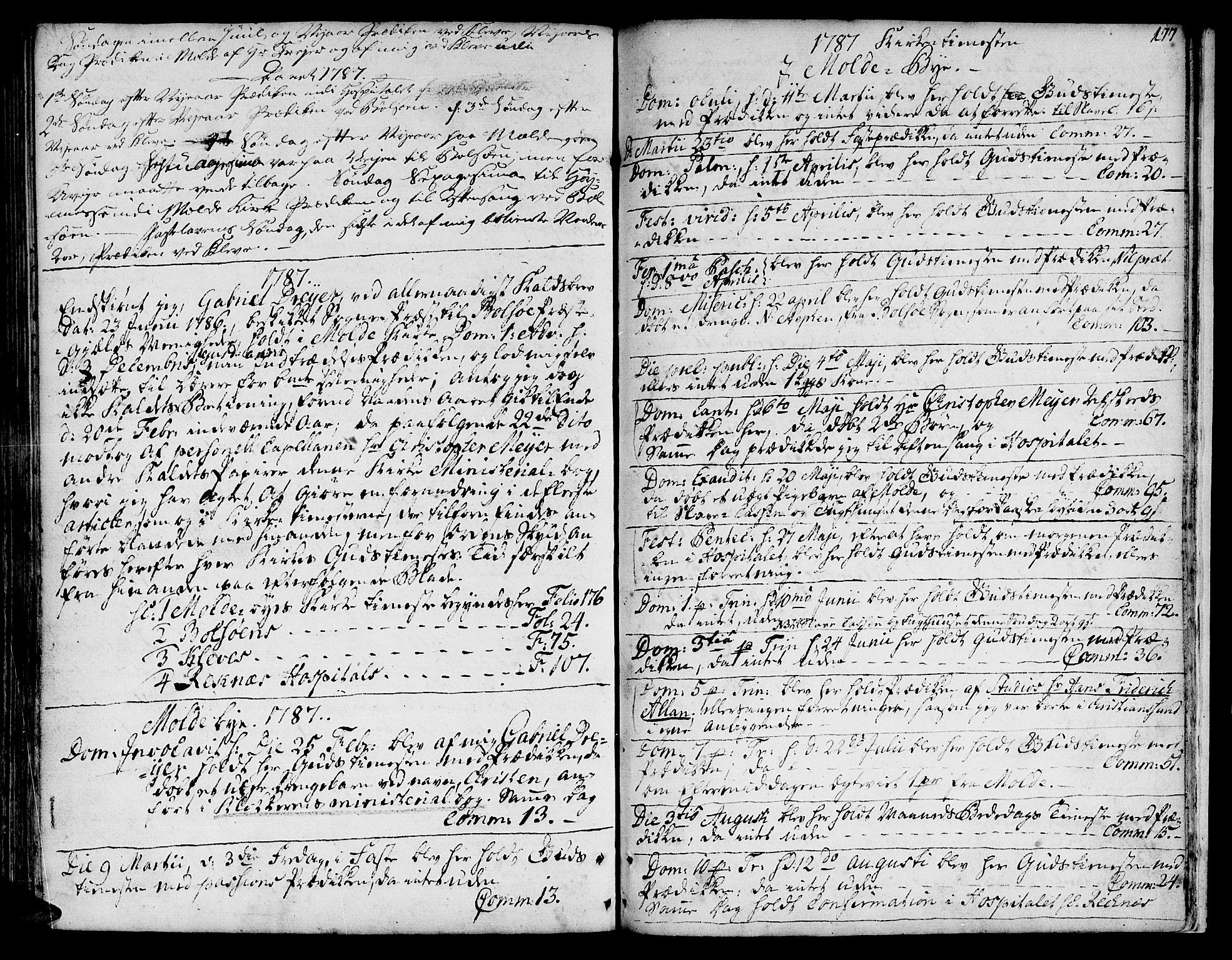 SAT, Ministerialprotokoller, klokkerbøker og fødselsregistre - Møre og Romsdal, 555/L0648: Ministerialbok nr. 555A01, 1759-1793, s. 177