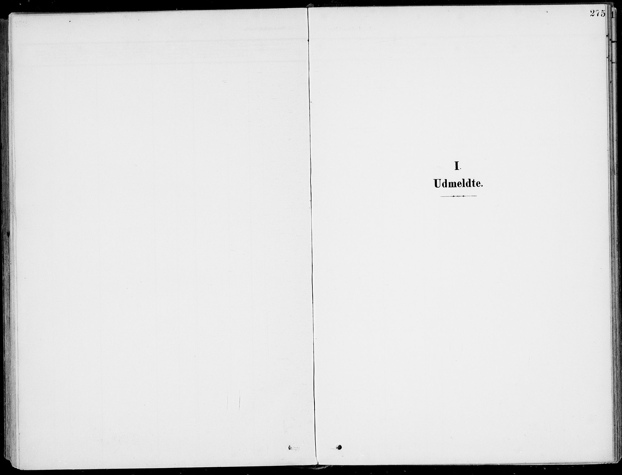 SAKO, Sigdal kirkebøker, F/Fb/L0002: Ministerialbok nr. II 2, 1901-1914, s. 275