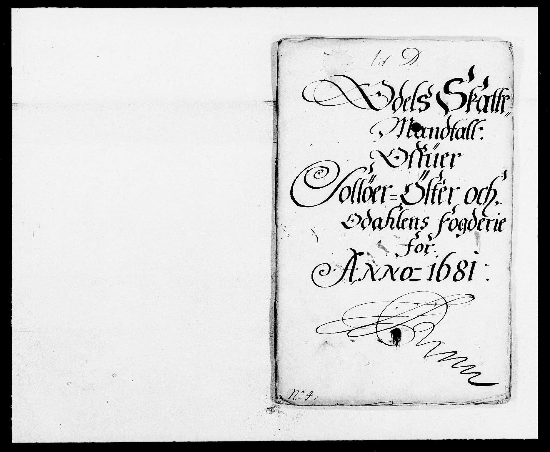 RA, Rentekammeret inntil 1814, Reviderte regnskaper, Fogderegnskap, R13/L0818: Fogderegnskap Solør, Odal og Østerdal, 1681, s. 202