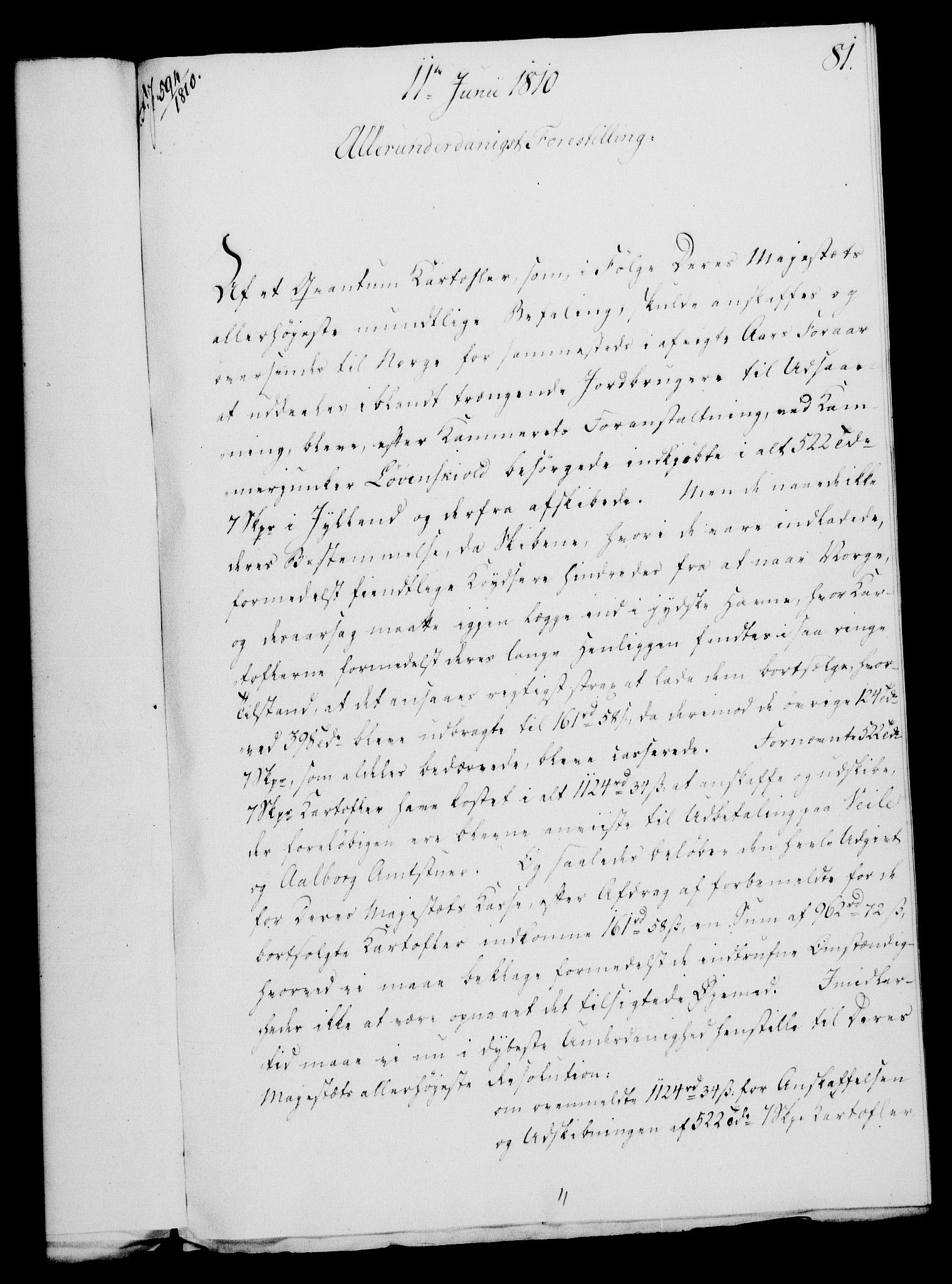 RA, Rentekammeret, Kammerkanselliet, G/Gf/Gfa/L0092: Norsk relasjons- og resolusjonsprotokoll (merket RK 52.92), 1810, s. 308