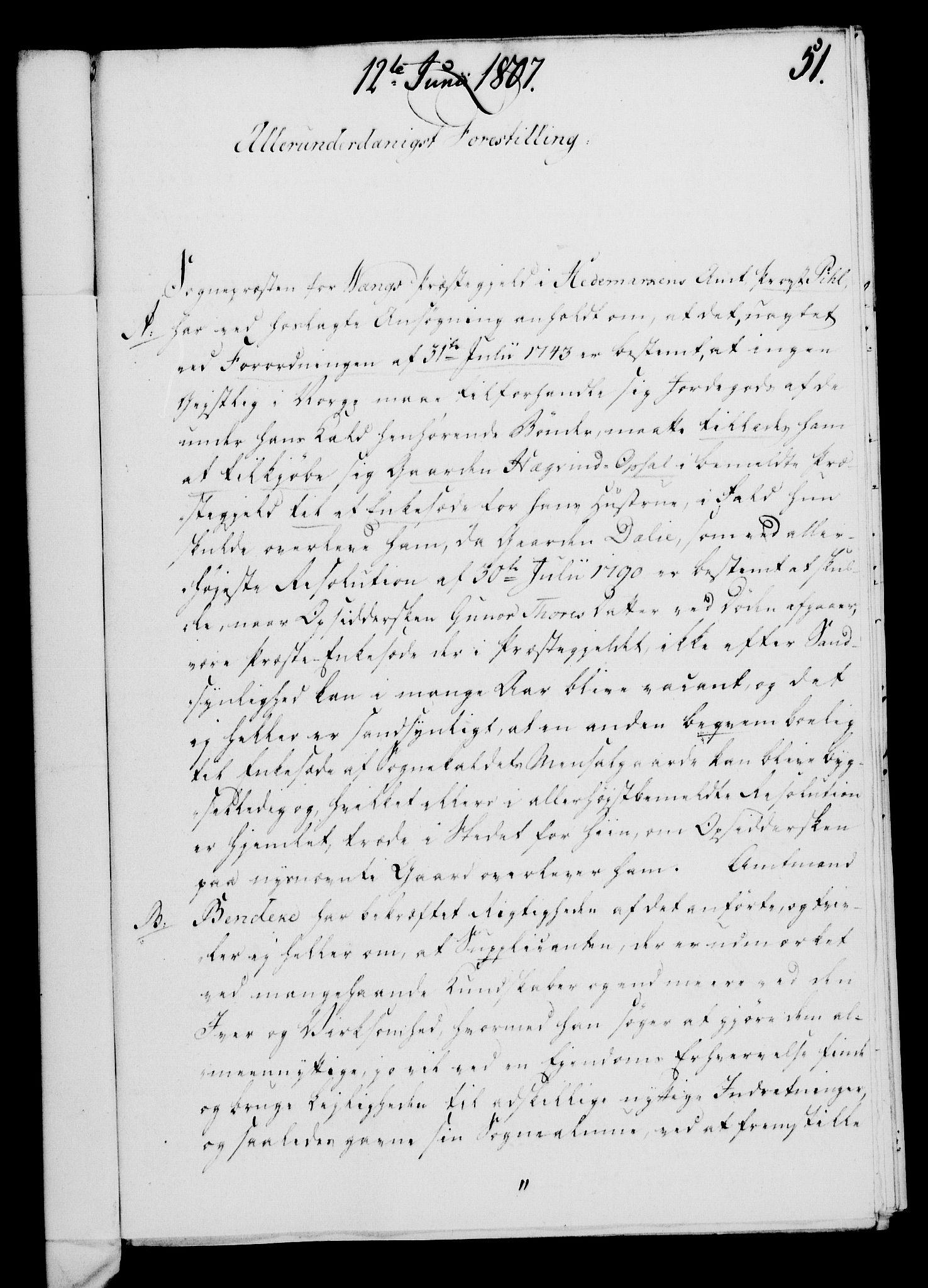 RA, Rentekammeret, Kammerkanselliet, G/Gf/Gfa/L0089: Norsk relasjons- og resolusjonsprotokoll (merket RK 52.89), 1807, s. 345