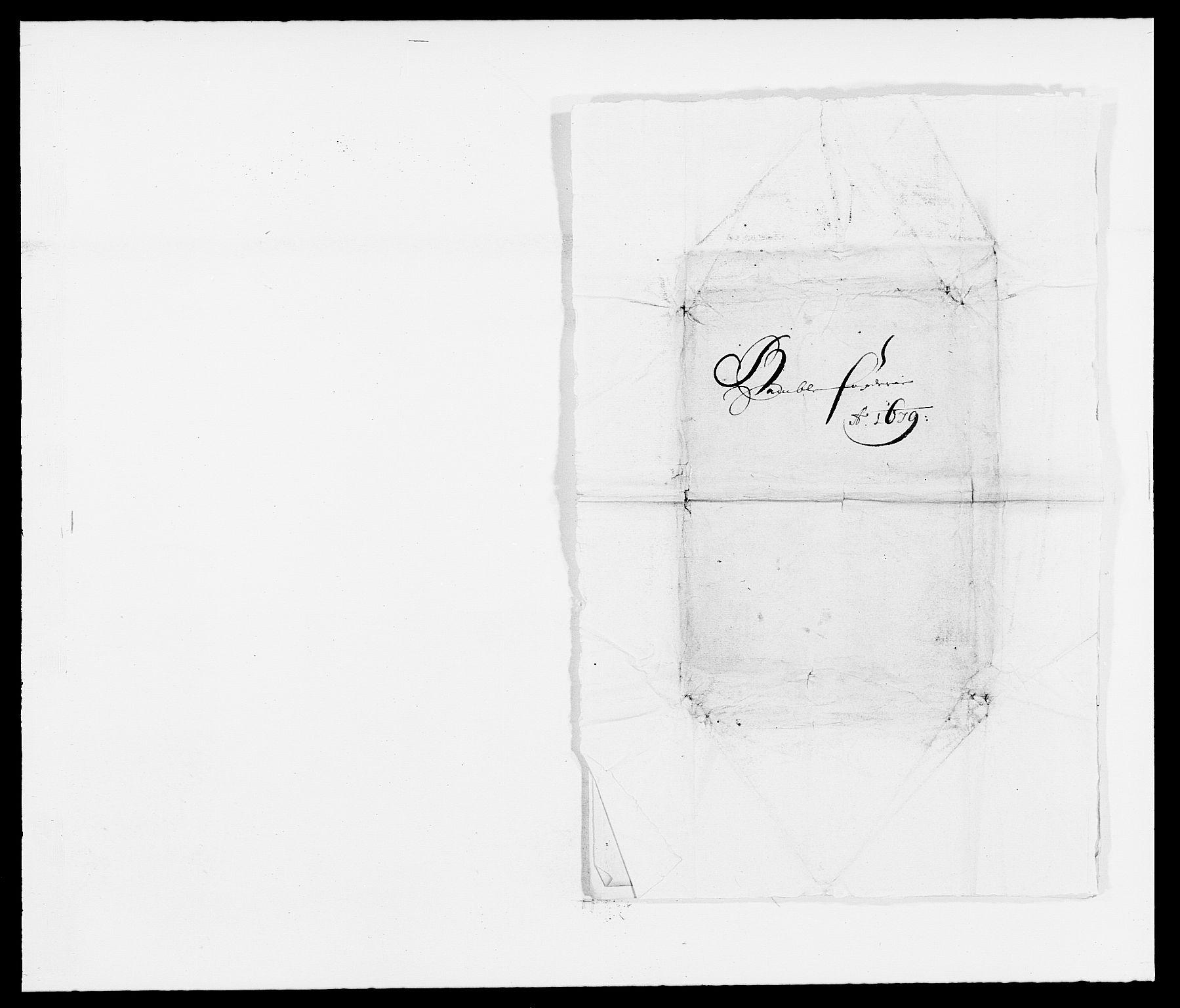 RA, Rentekammeret inntil 1814, Reviderte regnskaper, Fogderegnskap, R34/L2044: Fogderegnskap Bamble, 1678-1679, s. 427