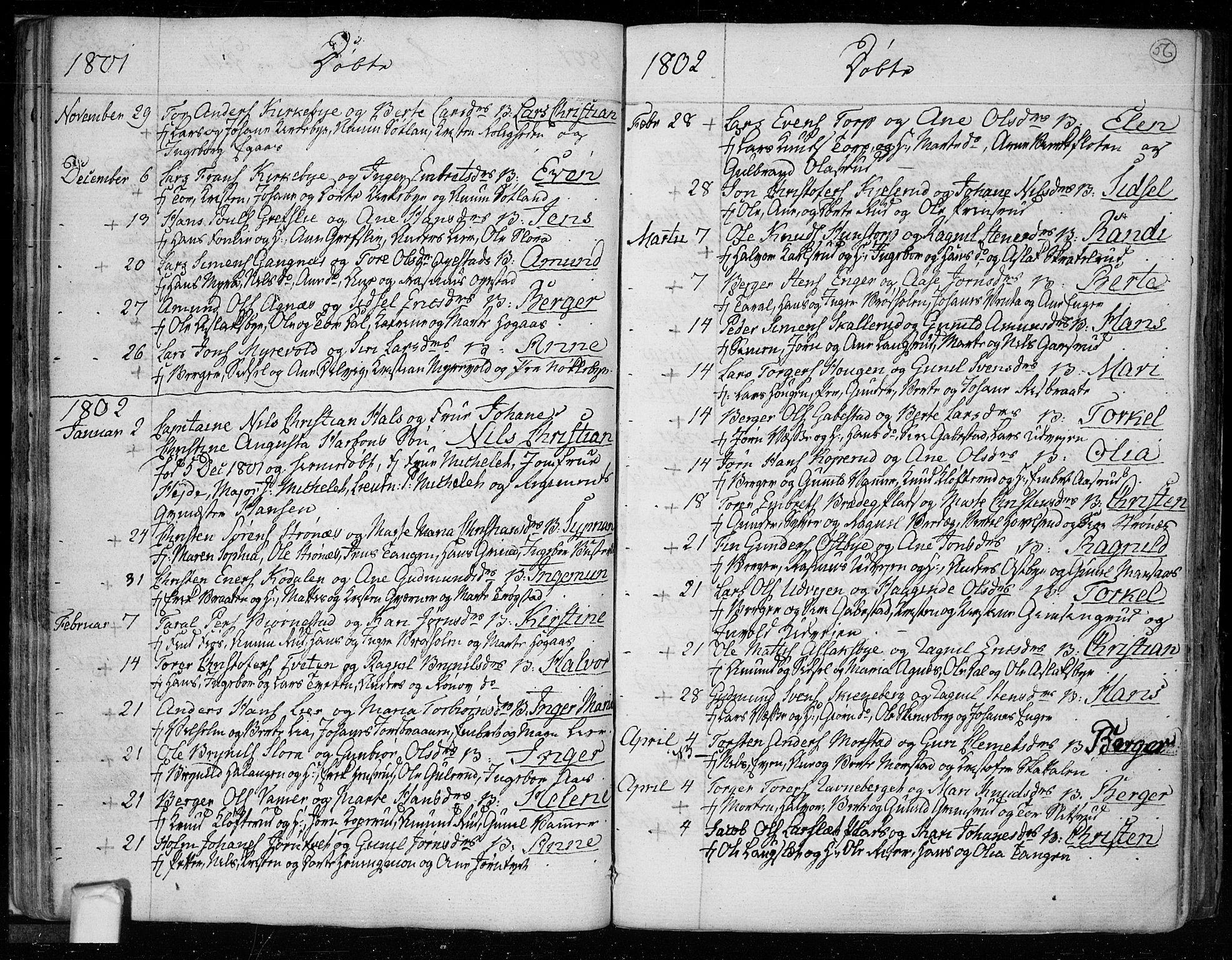 SAO, Trøgstad prestekontor Kirkebøker, F/Fa/L0005: Ministerialbok nr. I 5, 1784-1814, s. 56