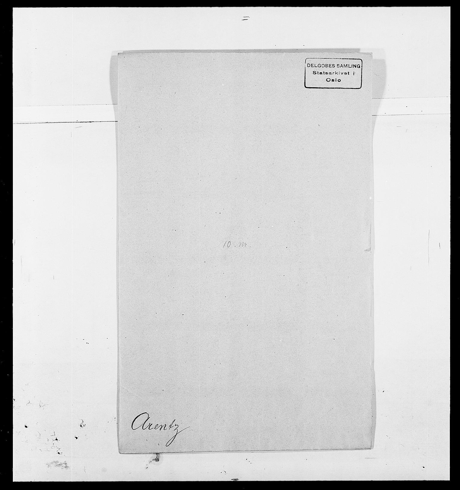 SAO, Delgobe, Charles Antoine - samling, D/Da/L0002: Anker, Ancher - Bauner, s. 274