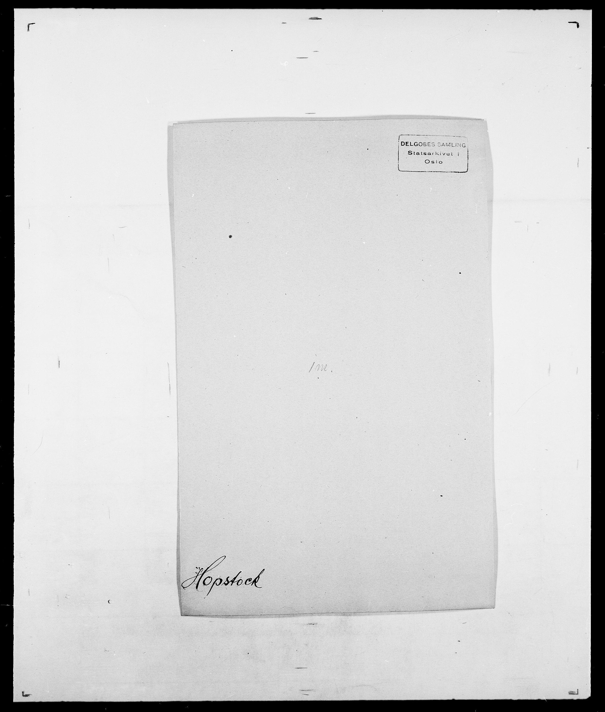 SAO, Delgobe, Charles Antoine - samling, D/Da/L0018: Hoch - Howert, s. 937