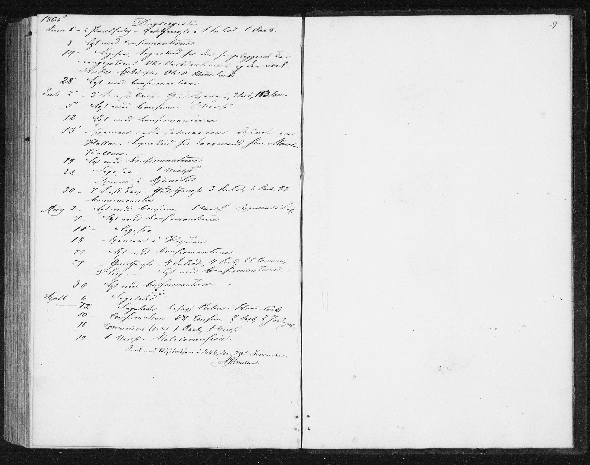 SAT, Ministerialprotokoller, klokkerbøker og fødselsregistre - Sør-Trøndelag, 616/L0408: Ministerialbok nr. 616A05, 1857-1865, s. 9