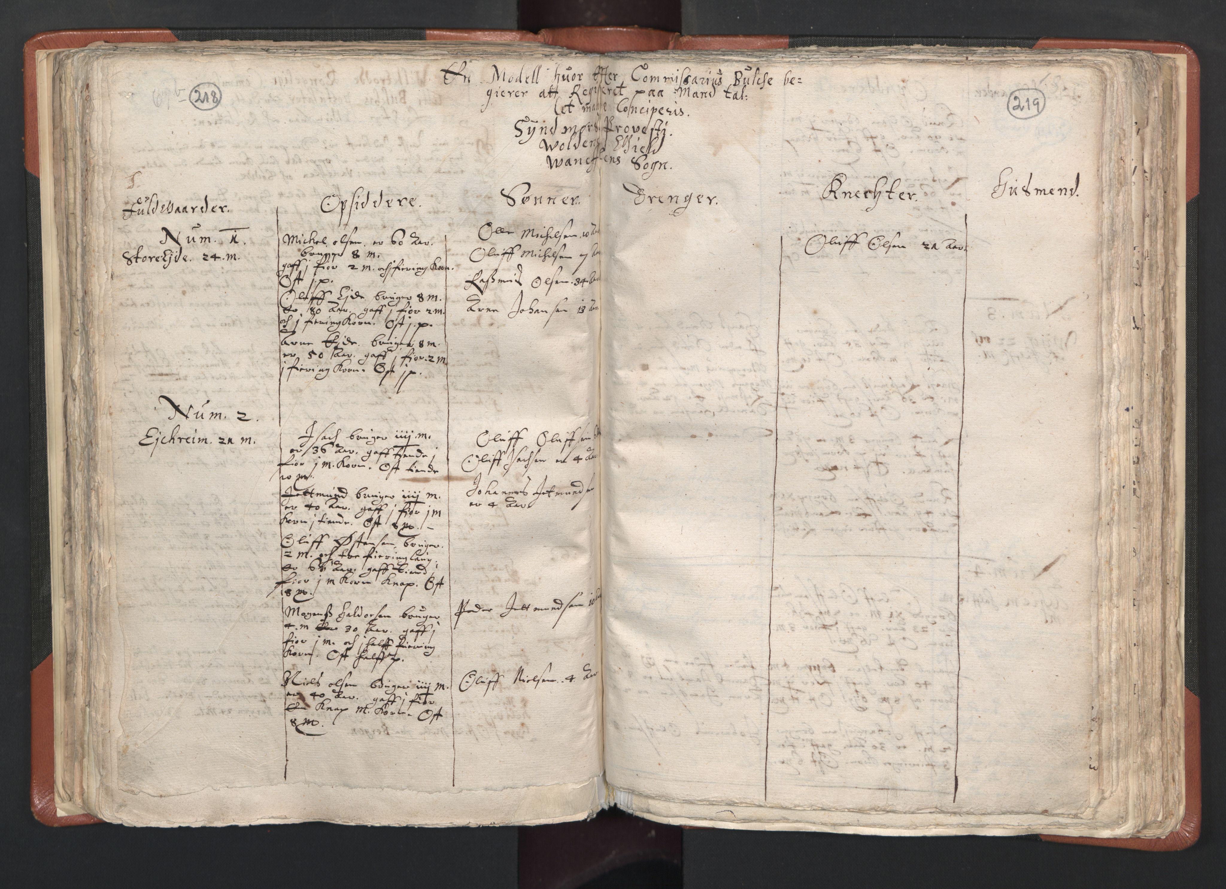 RA, Sogneprestenes manntall 1664-1666, nr. 26: Sunnmøre prosti, 1664-1666, s. 218-219