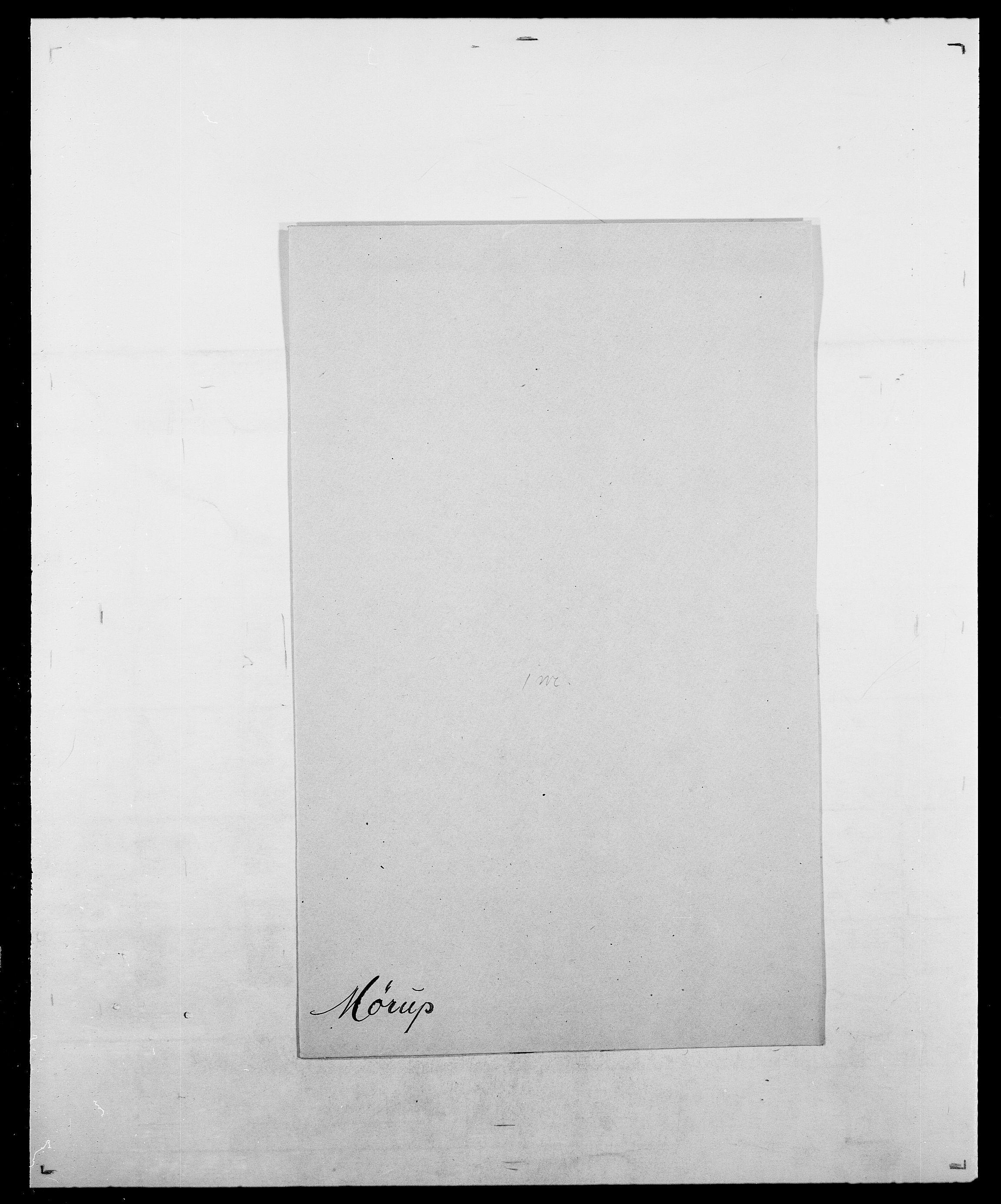 SAO, Delgobe, Charles Antoine - samling, D/Da/L0027: Morath - v. Møsting, s. 773