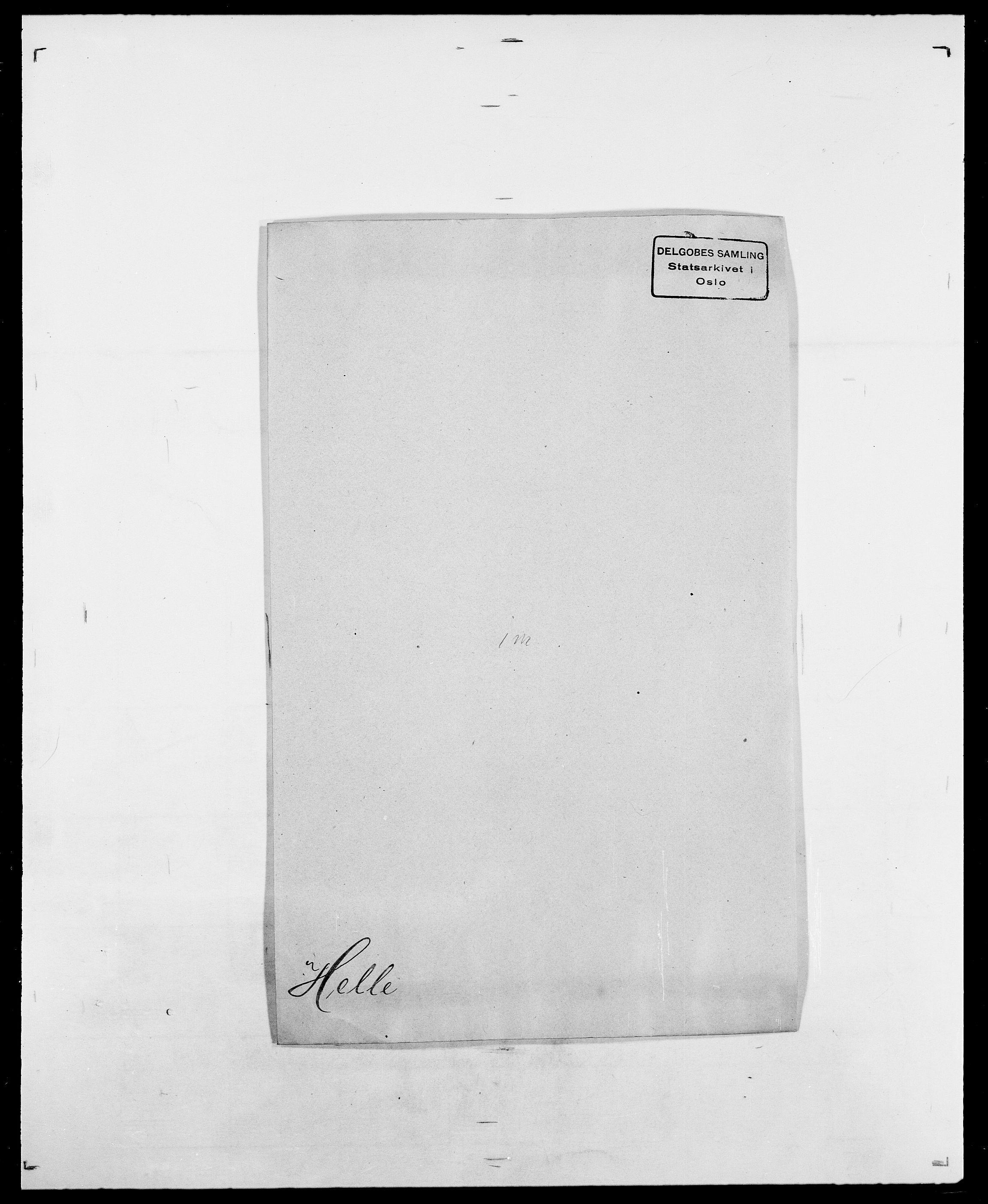 SAO, Delgobe, Charles Antoine - samling, D/Da/L0017: Helander - Hjørne, s. 45