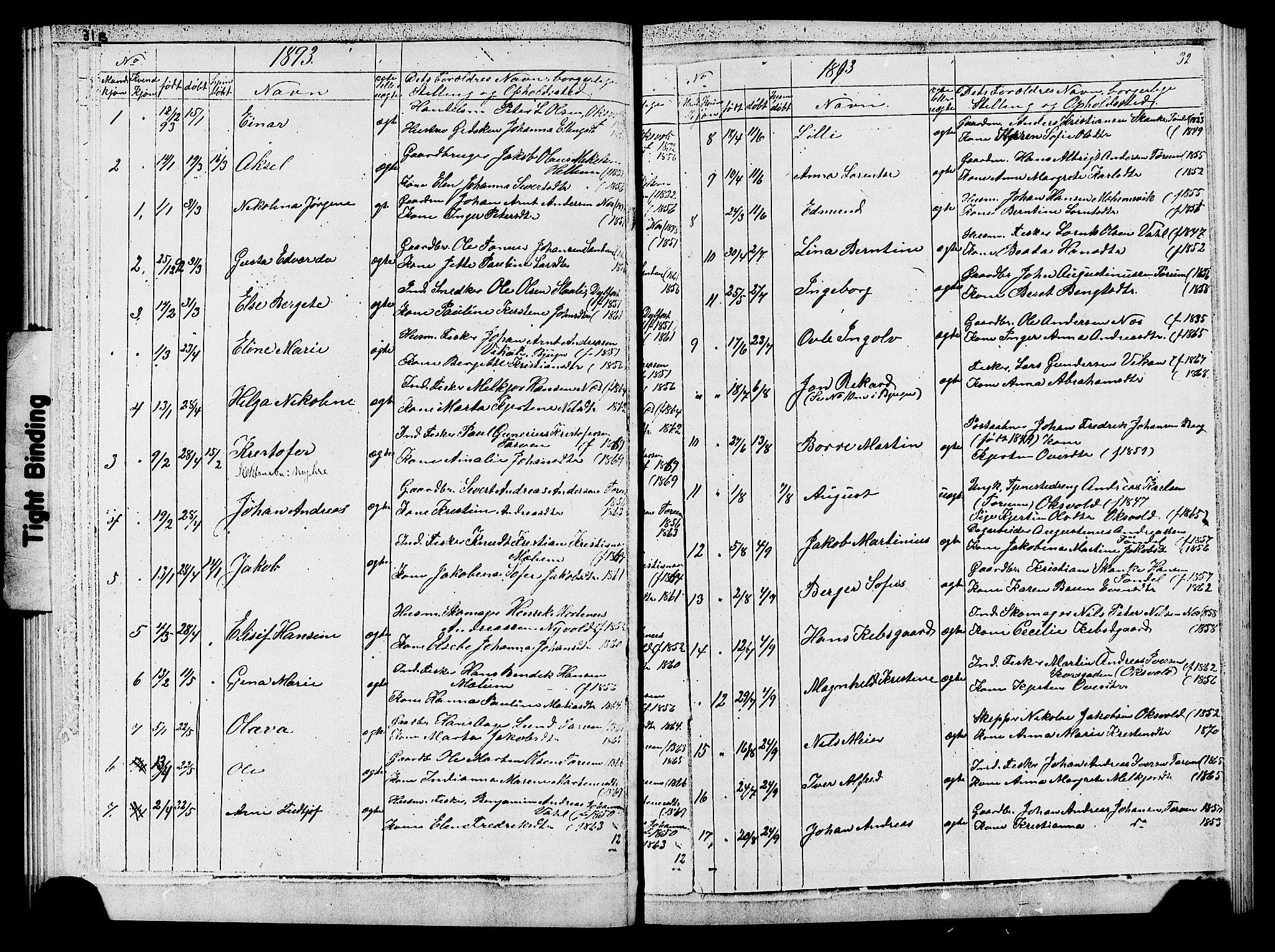 SAT, Ministerialprotokoller, klokkerbøker og fødselsregistre - Sør-Trøndelag, 652/L0653: Klokkerbok nr. 652C01, 1866-1910, s. 32