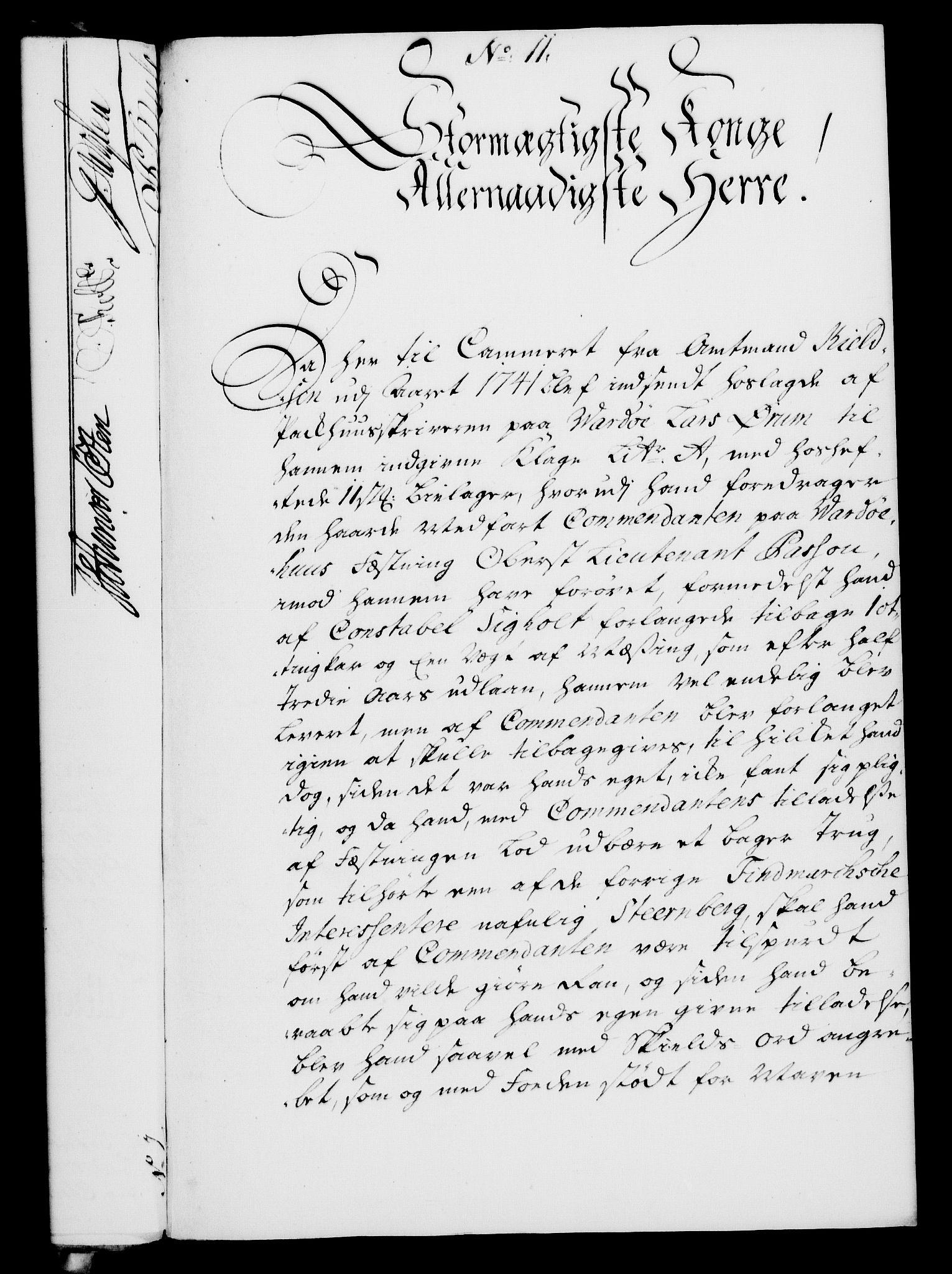 RA, Rentekammeret, Kammerkanselliet, G/Gf/Gfa/L0027: Norsk relasjons- og resolusjonsprotokoll (merket RK 52.27), 1744, s. 76
