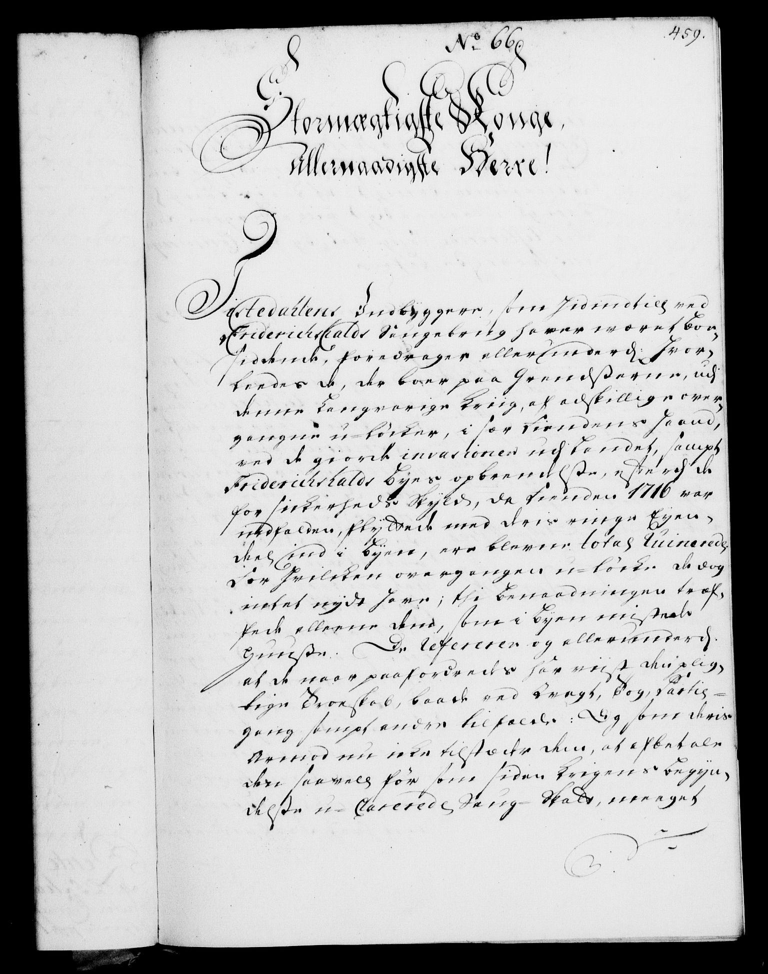 RA, Rentekammeret, Kammerkanselliet, G/Gf/Gfa/L0002: Norsk relasjons- og resolusjonsprotokoll (merket RK 52.2), 1720, s. 454