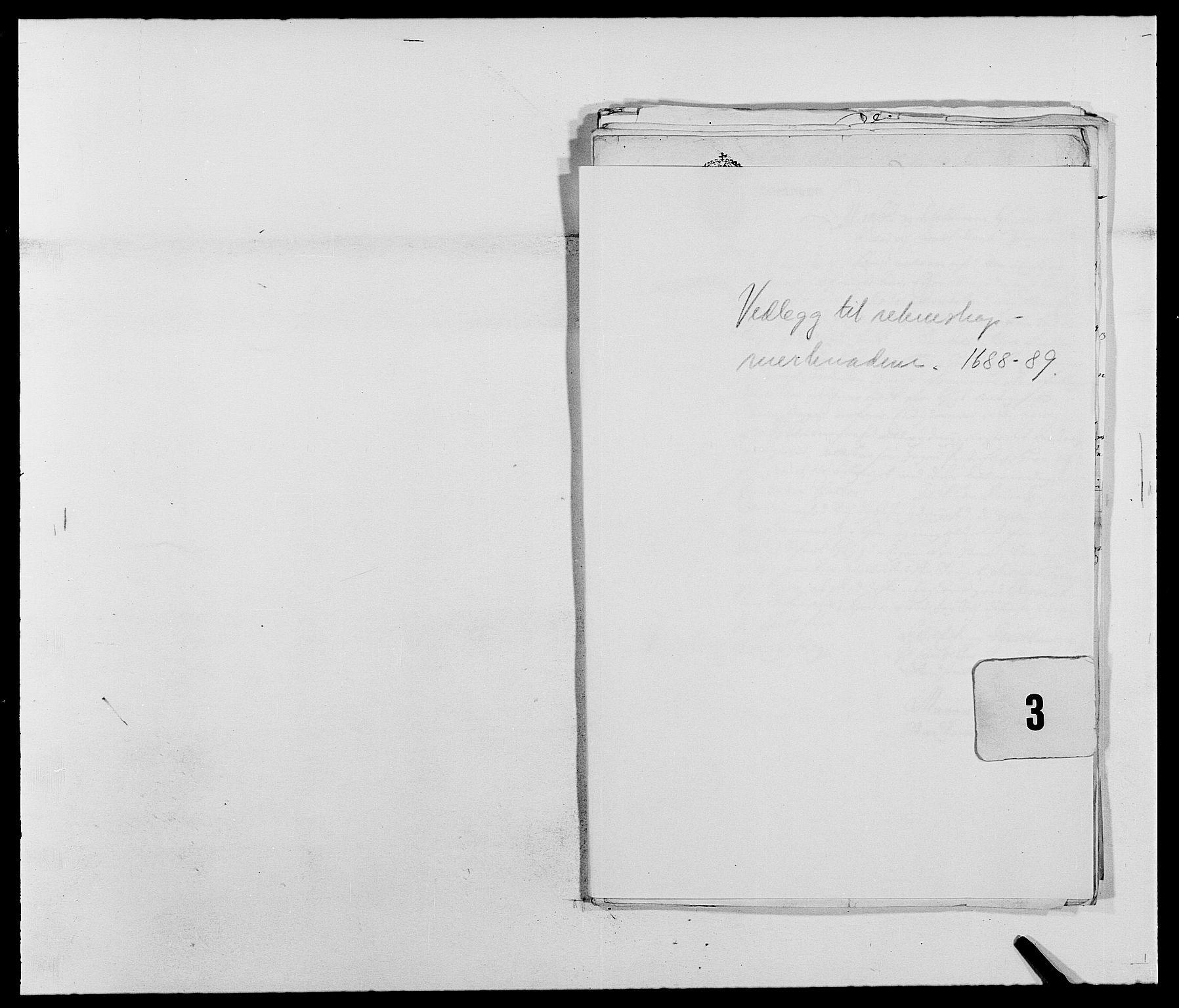 RA, Rentekammeret inntil 1814, Reviderte regnskaper, Fogderegnskap, R39/L2307: Fogderegnskap Nedenes, 1684-1689, s. 140