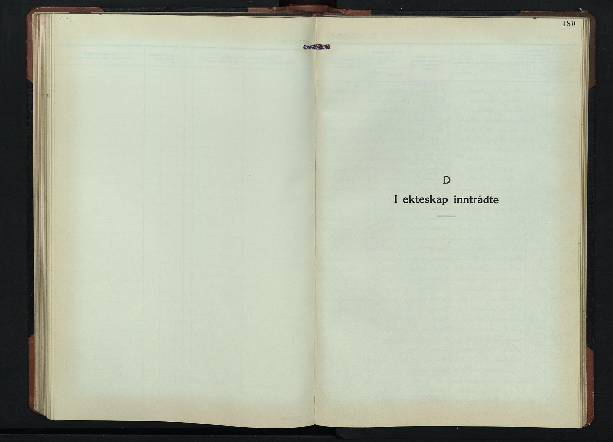 SAH, Gjøvik prestekontor, Klokkerbok nr. 1, 1941-1951, s. 180