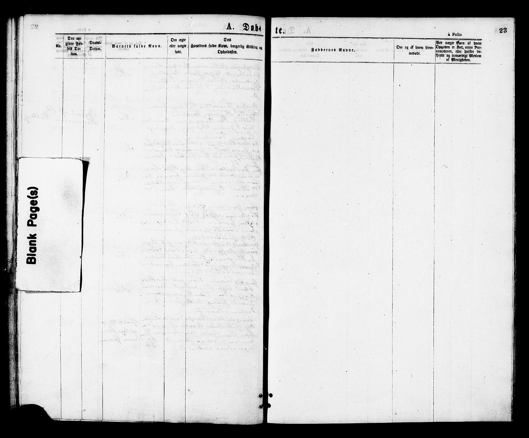 SAT, Ministerialprotokoller, klokkerbøker og fødselsregistre - Nord-Trøndelag, 713/L0118: Ministerialbok nr. 713A08 /1, 1875-1877, s. 23