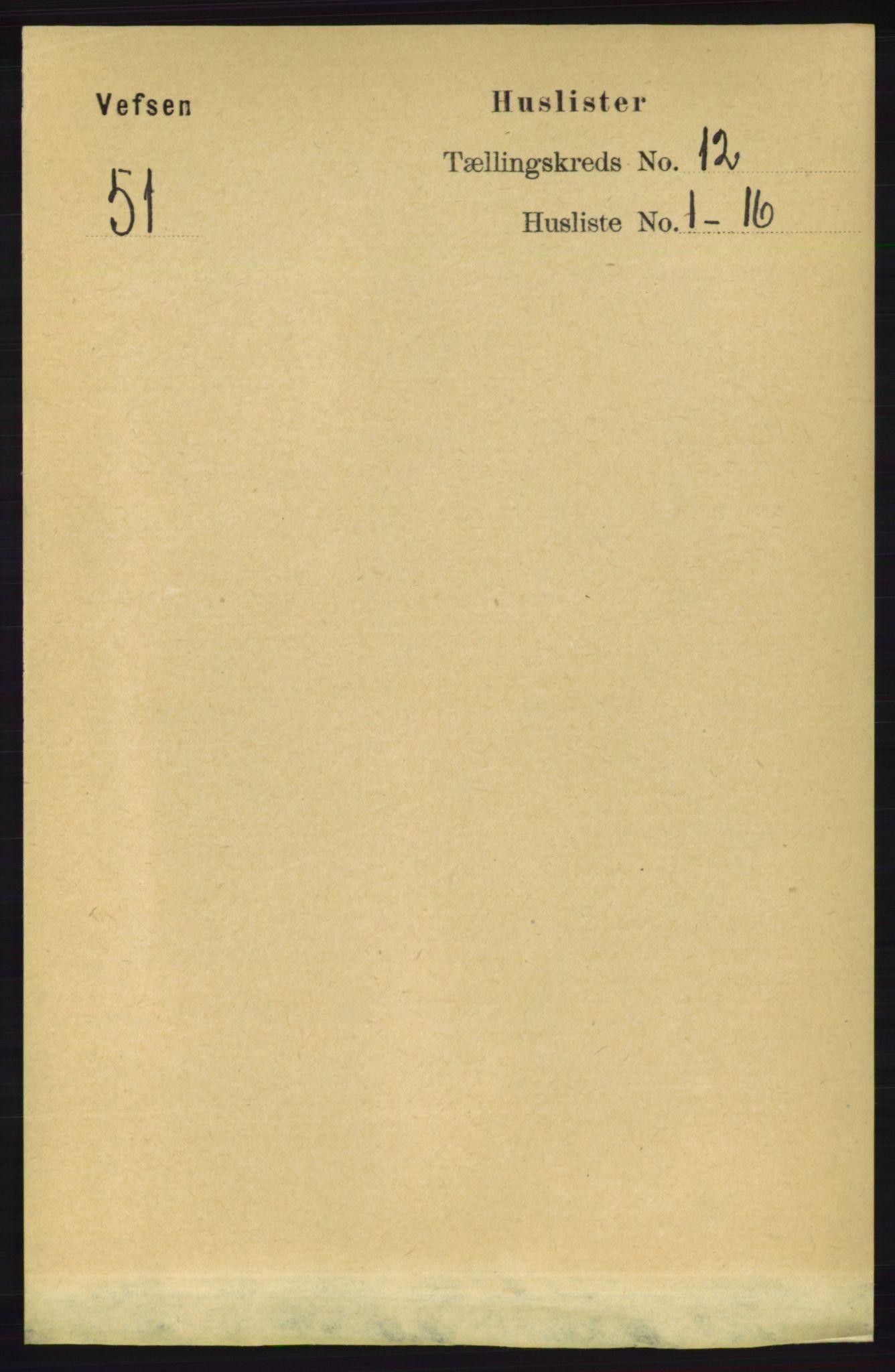 RA, Folketelling 1891 for 1824 Vefsn herred, 1891, s. 6055