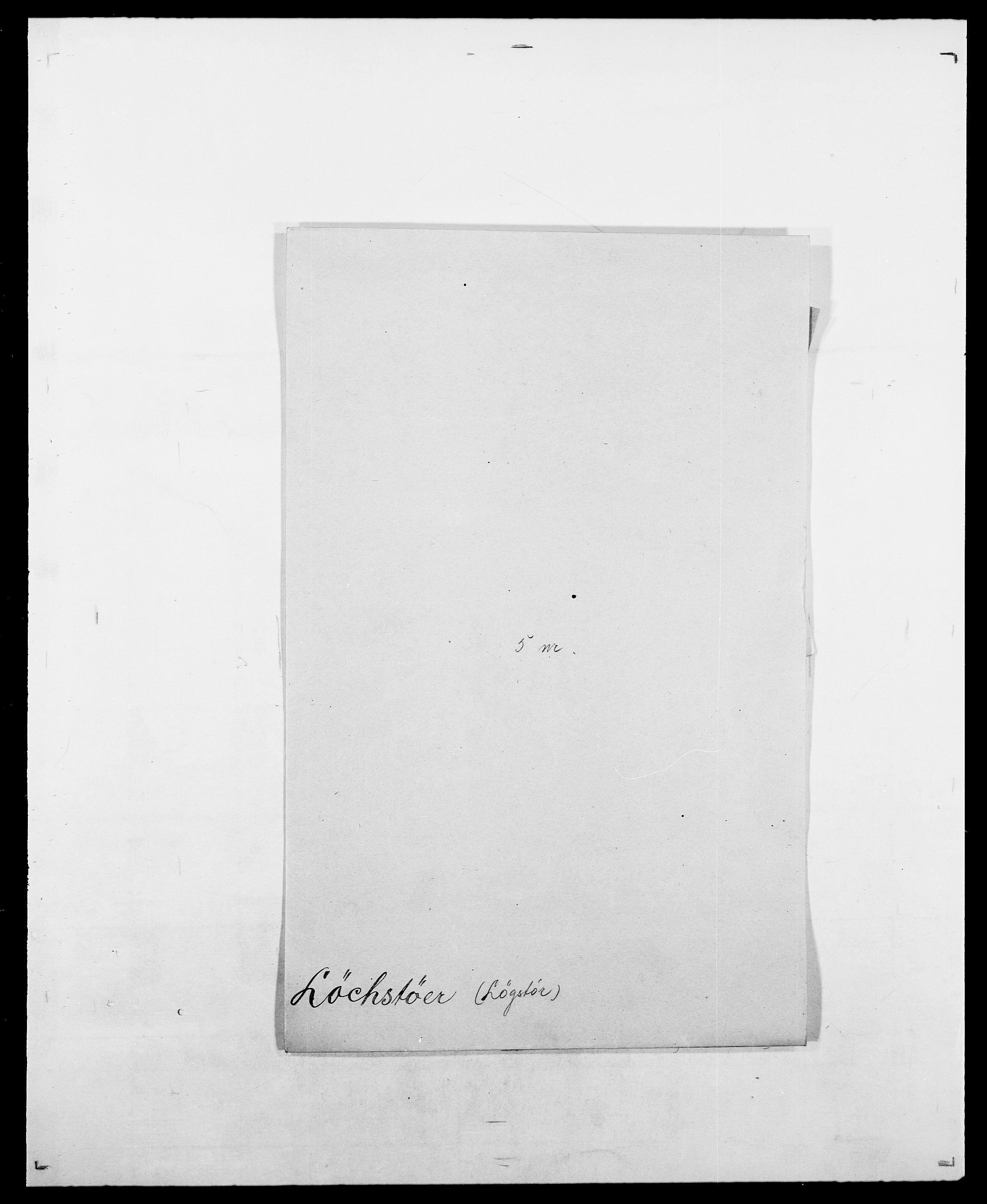 SAO, Delgobe, Charles Antoine - samling, D/Da/L0025: Løberg - Mazar, s. 9