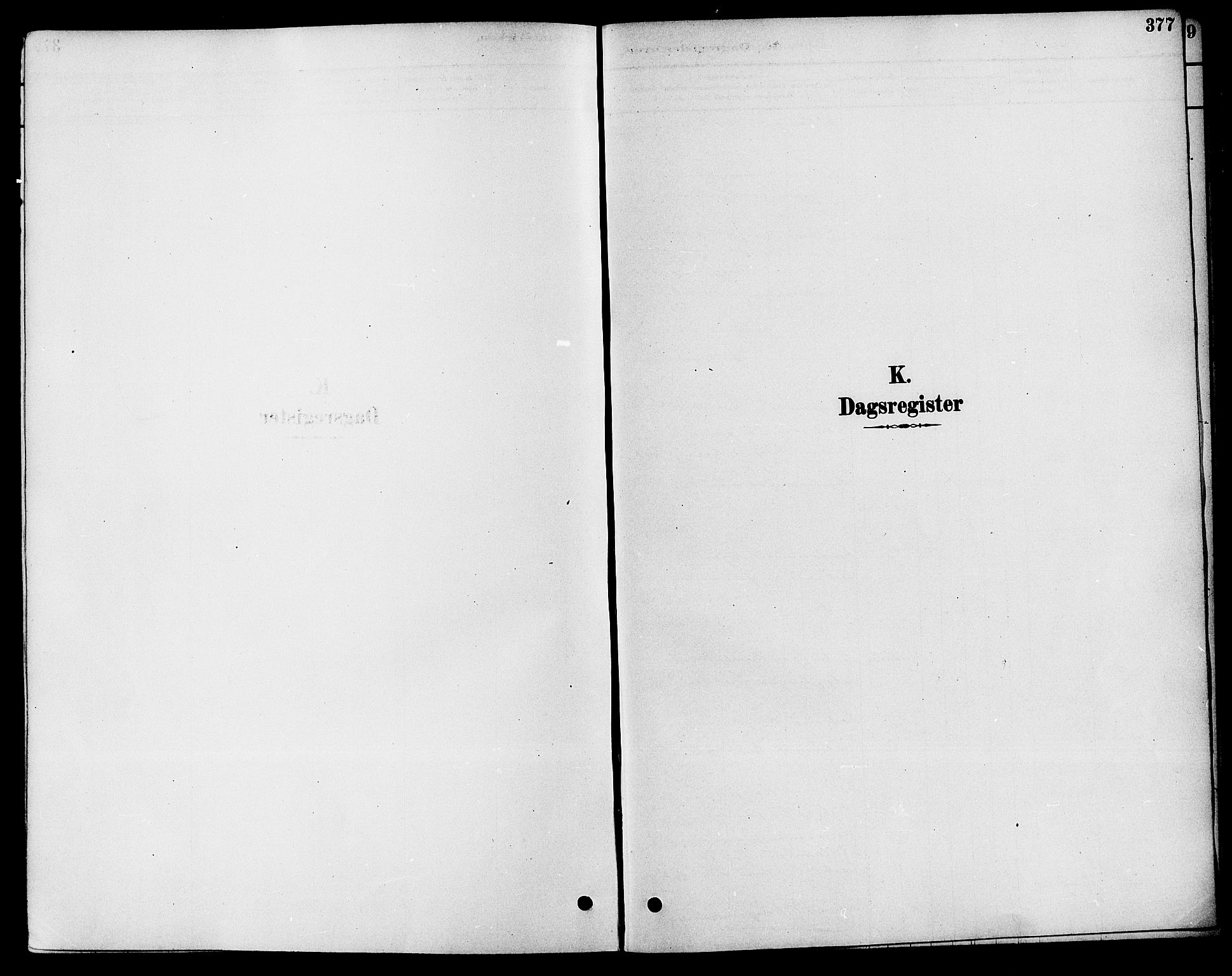 SAKO, Solum kirkebøker, F/Fa/L0009: Ministerialbok nr. I 9, 1877-1887, s. 377